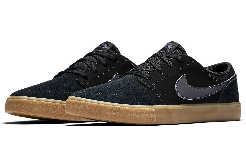 Sin personal Floración Ciudad  Nike SB Solarsoft Portmore II Shoes Black Gum | Alltricks.com