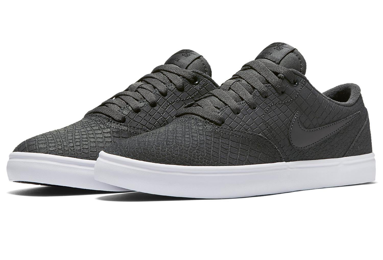 nike sb check solarsoft premium shoes grey. Black Bedroom Furniture Sets. Home Design Ideas