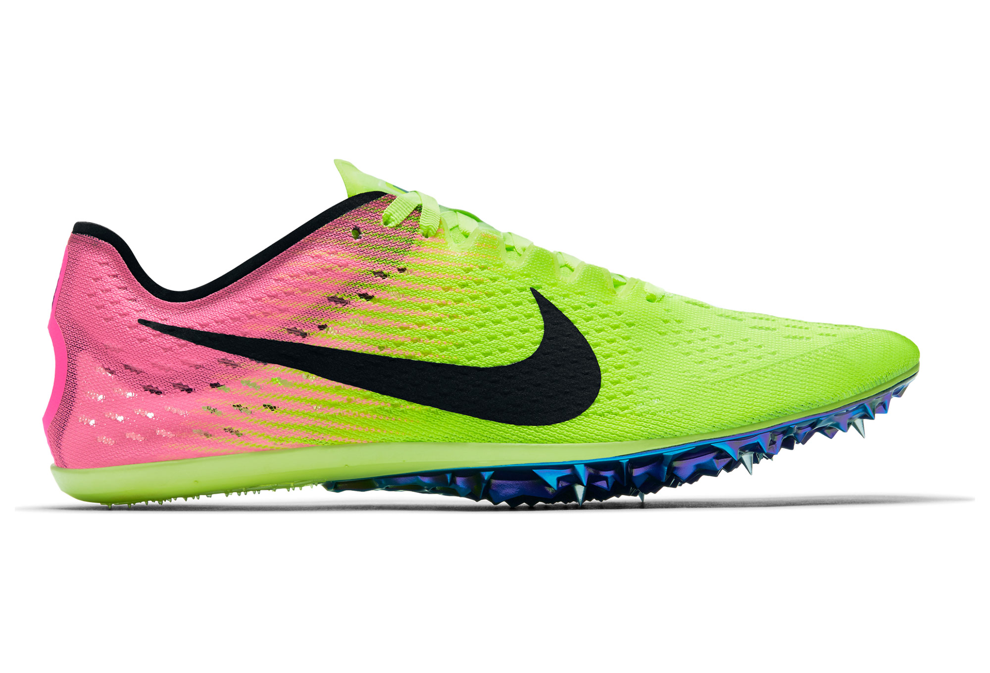 nike zoom victory elite 2 shoes yellow pink unisex