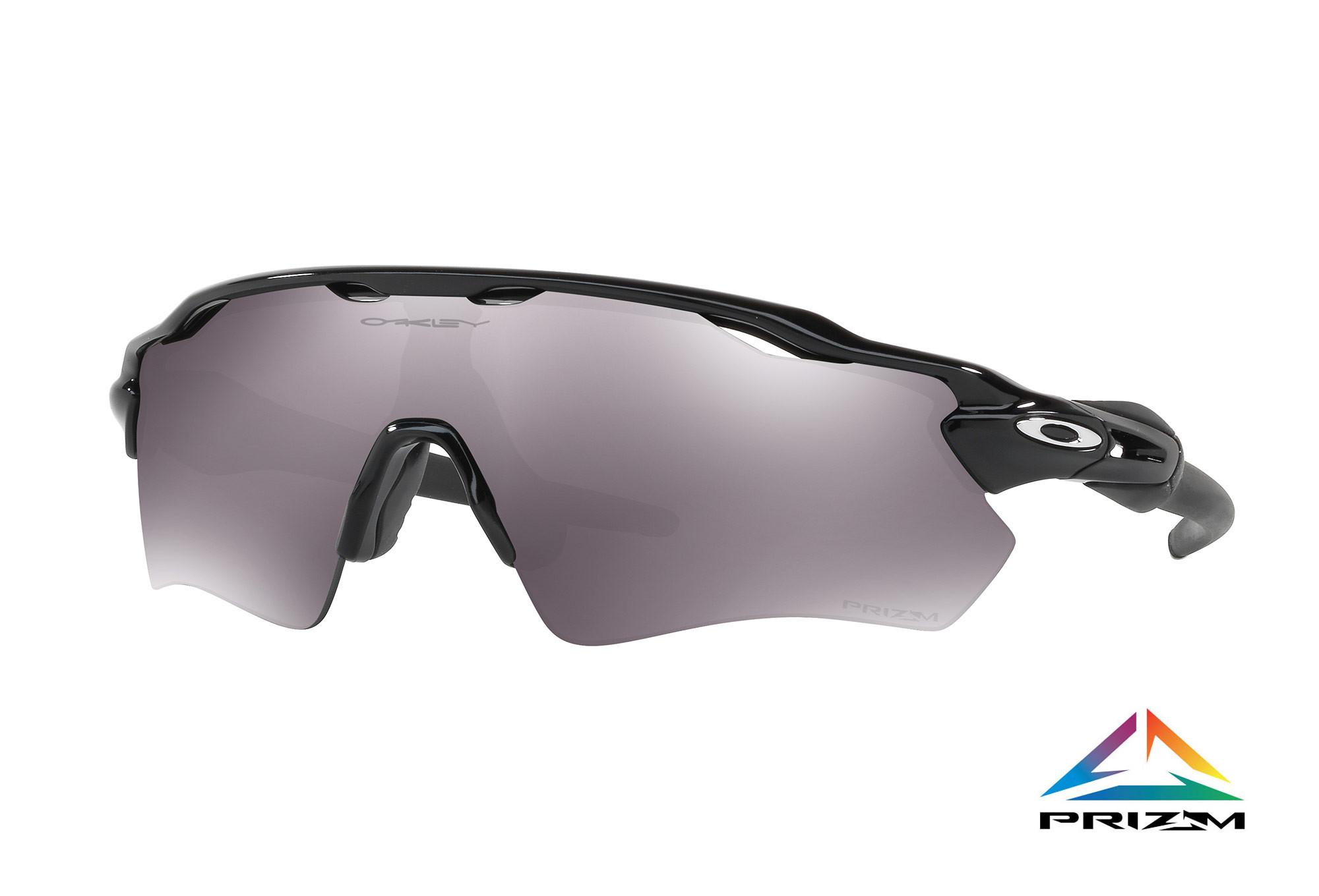 Oakley occhiali da sole radar ev path lucido nero prizm