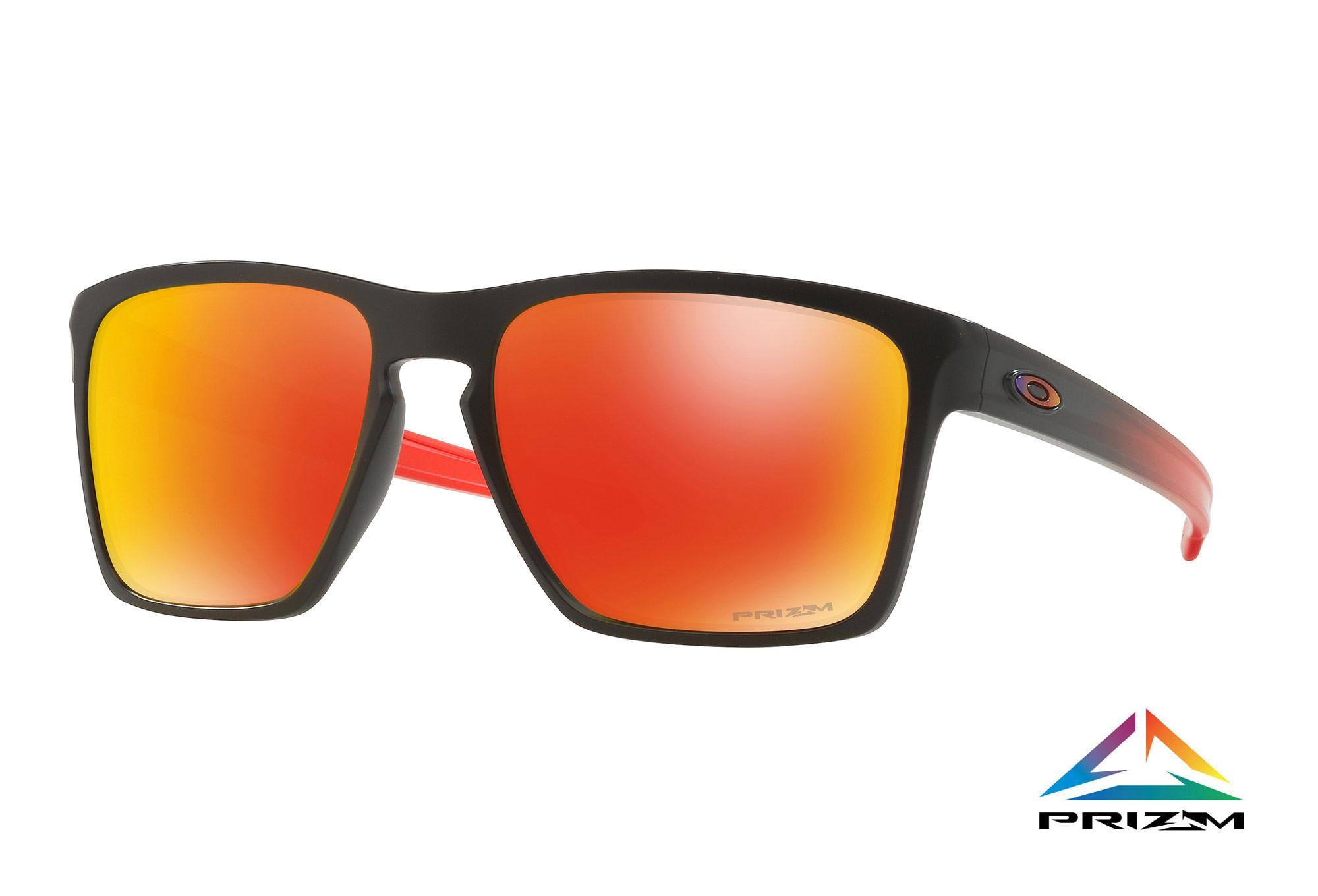Oakley Sliver XL Prizm Sonnenbrille Schwarz/Blau IkF5n