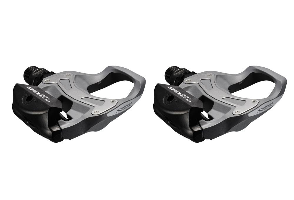 Spd Sl Pedals >> Shimano R550 Spd Sl Clipless Road Pedals Grey
