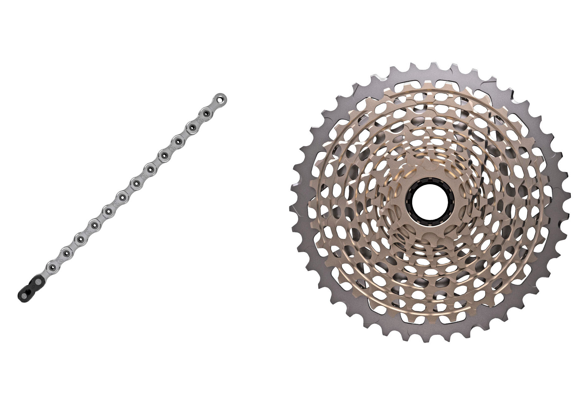 664b29262b4 Sram XX1 XG-1199 11 Speed Cassette + Sram XX1 Chain Bundle | Alltricks.fr