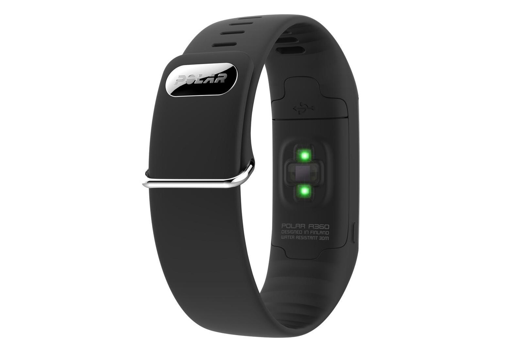 polar bracelet d activit fitness tracker a360 noir. Black Bedroom Furniture Sets. Home Design Ideas