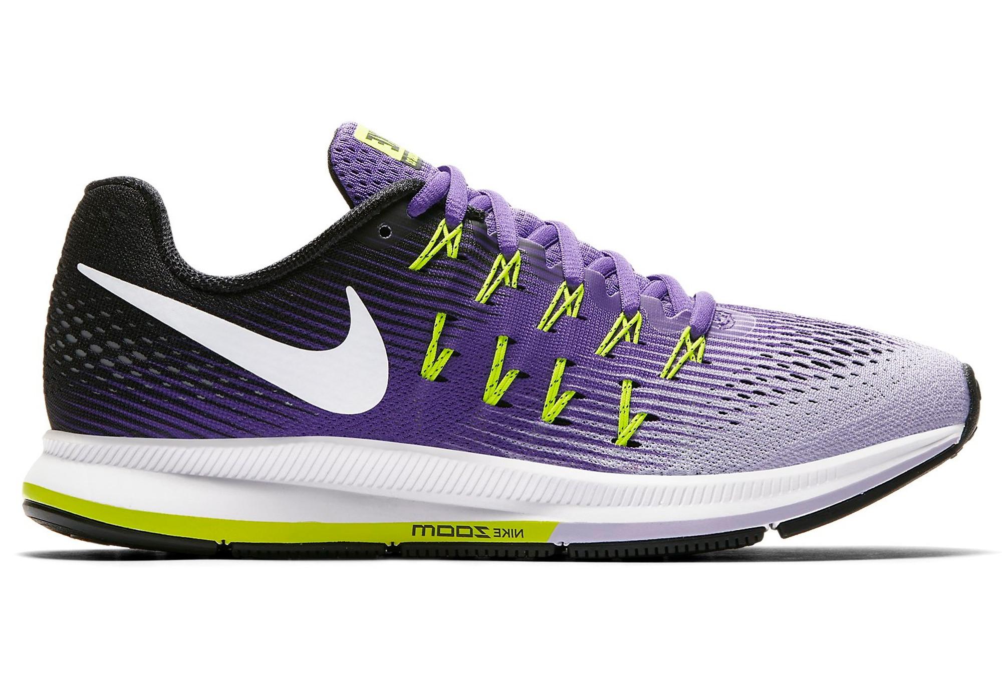 Nike Zoom Pegasus 31, Sneakers Basses Fille - Violet - Purple, 38 EU