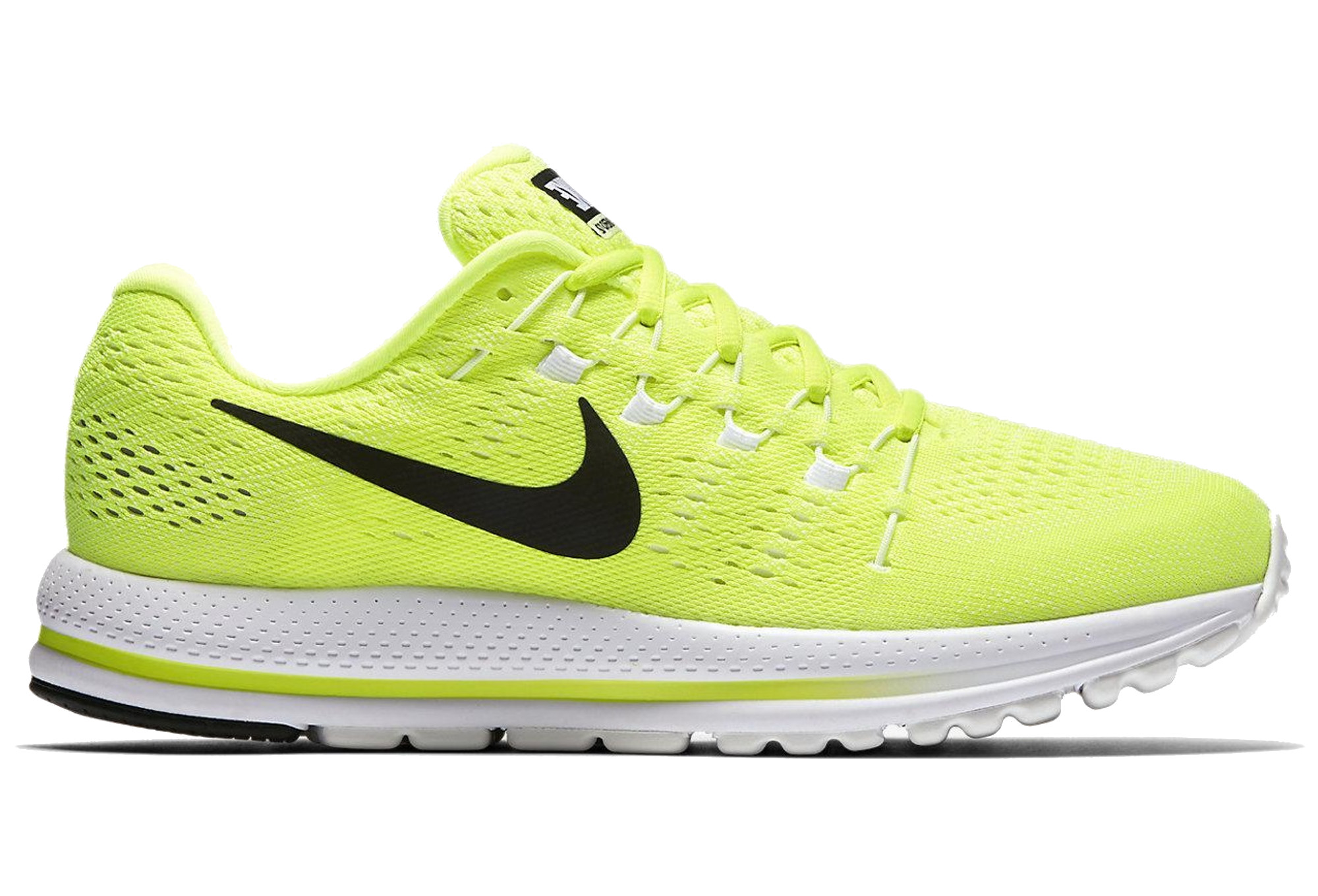 best website a8a4a e4379 Chaussures de Running Nike AIR ZOOM VOMERO 12 Jaune   Blanc