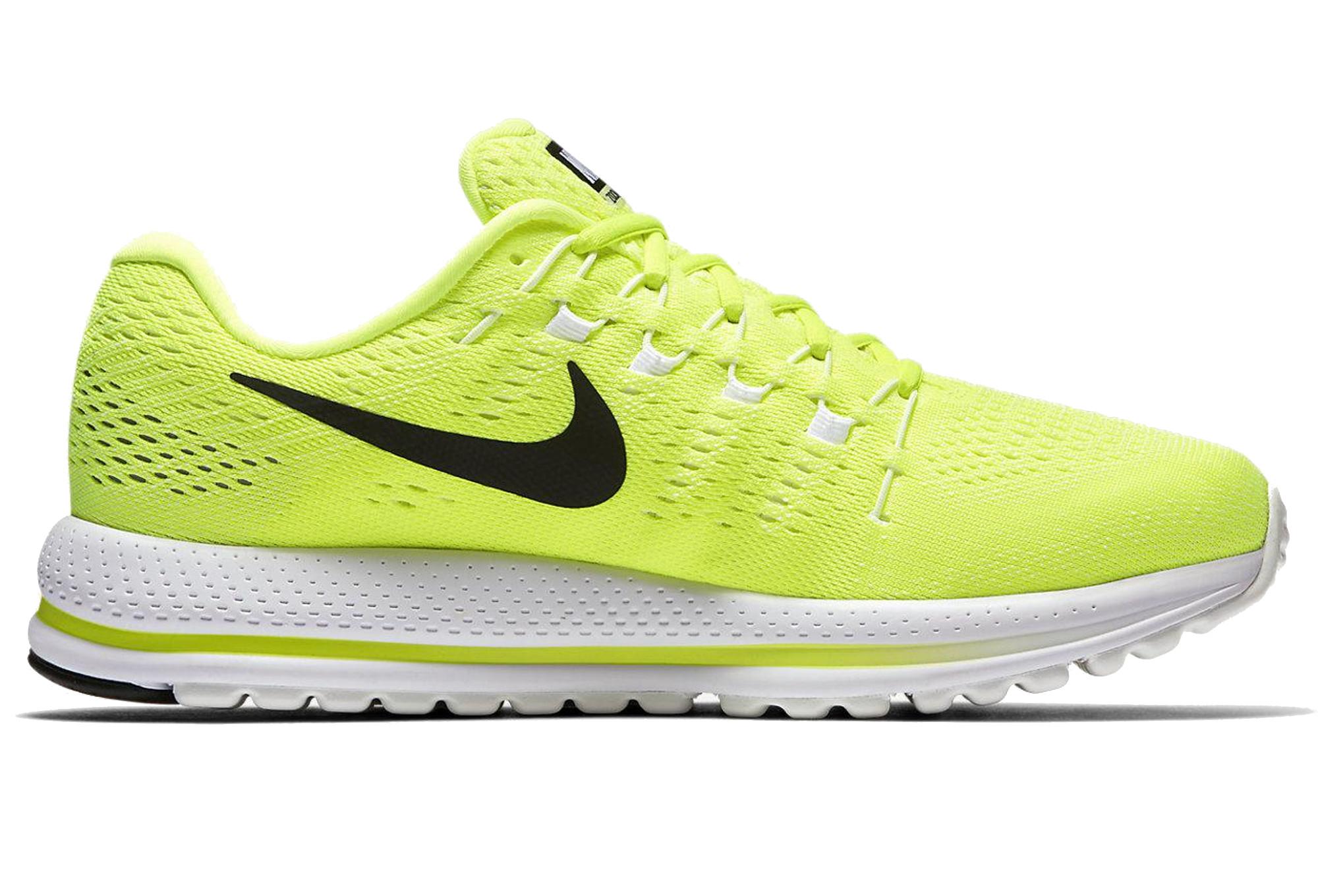 a586086ec2ae2 Chaussures de Running Nike AIR ZOOM VOMERO 12 Jaune   Blanc ...