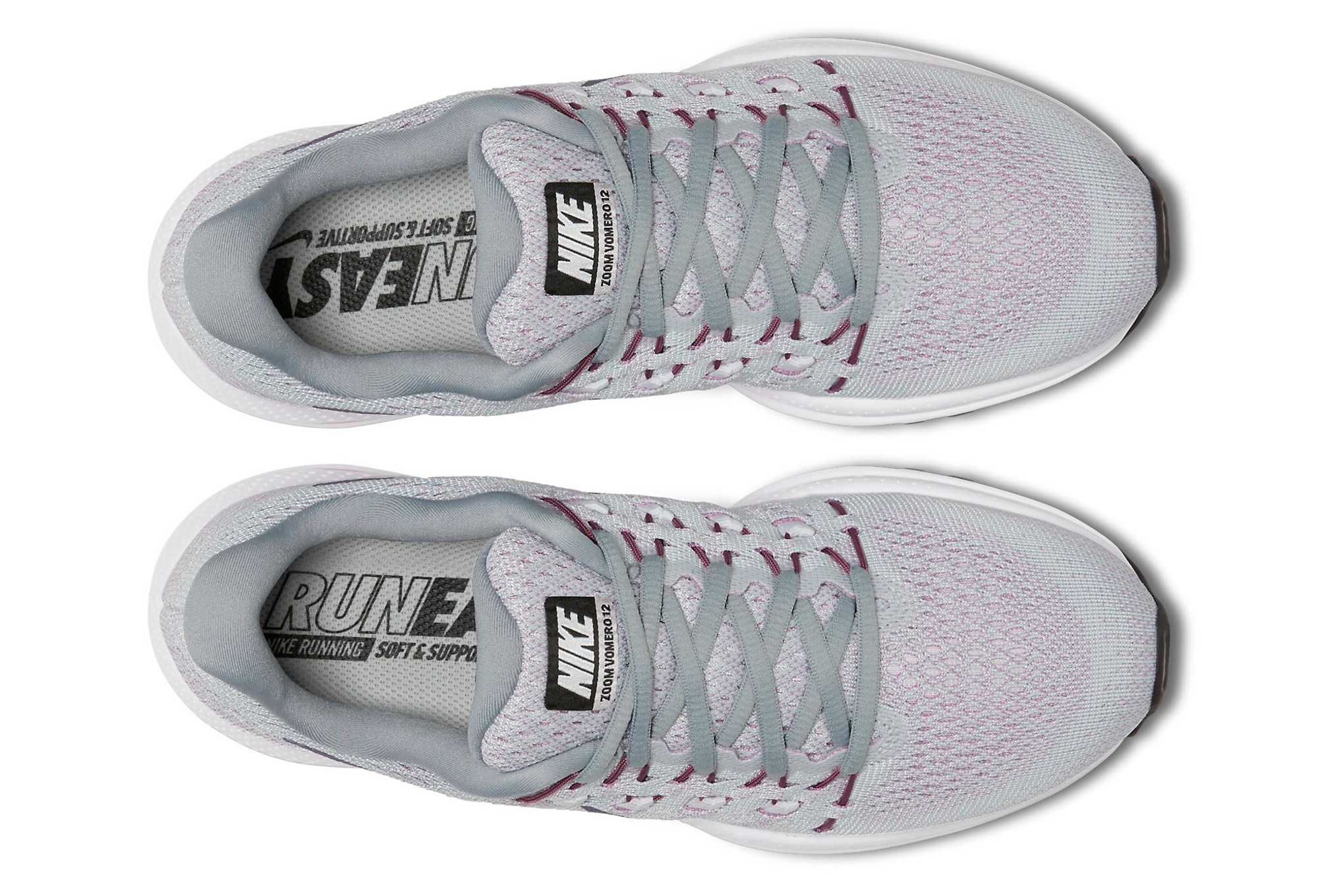 new product e28c0 430ef Chaussures de Running Femme Nike AIR ZOOM VOMERO 12 Gris