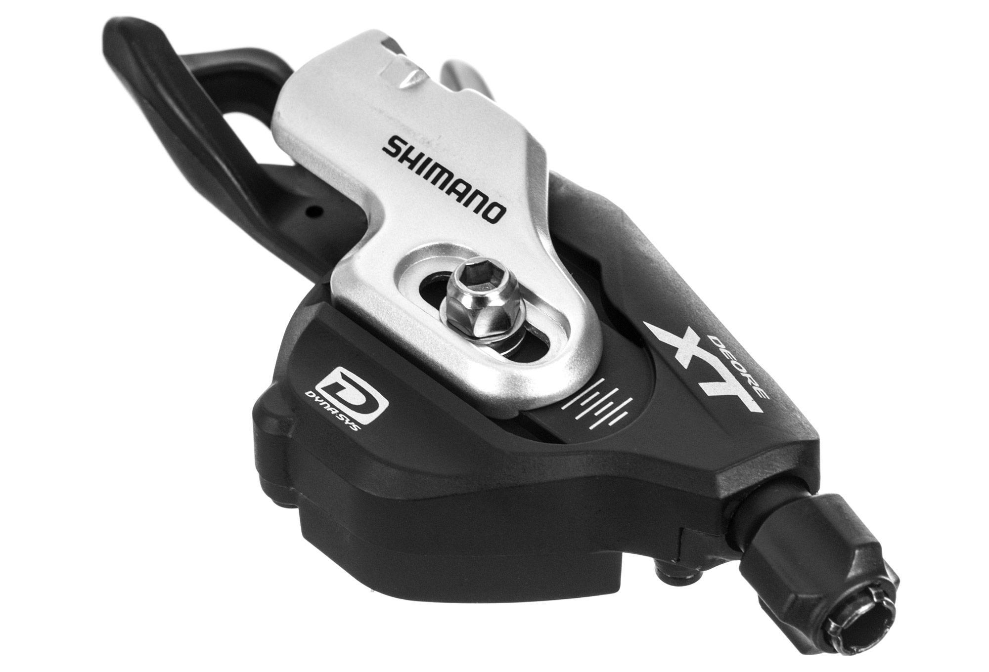 Shimano I-Spec Adaptateur Deore XT sm-sl78 I-Spec B Noir Argent Paire