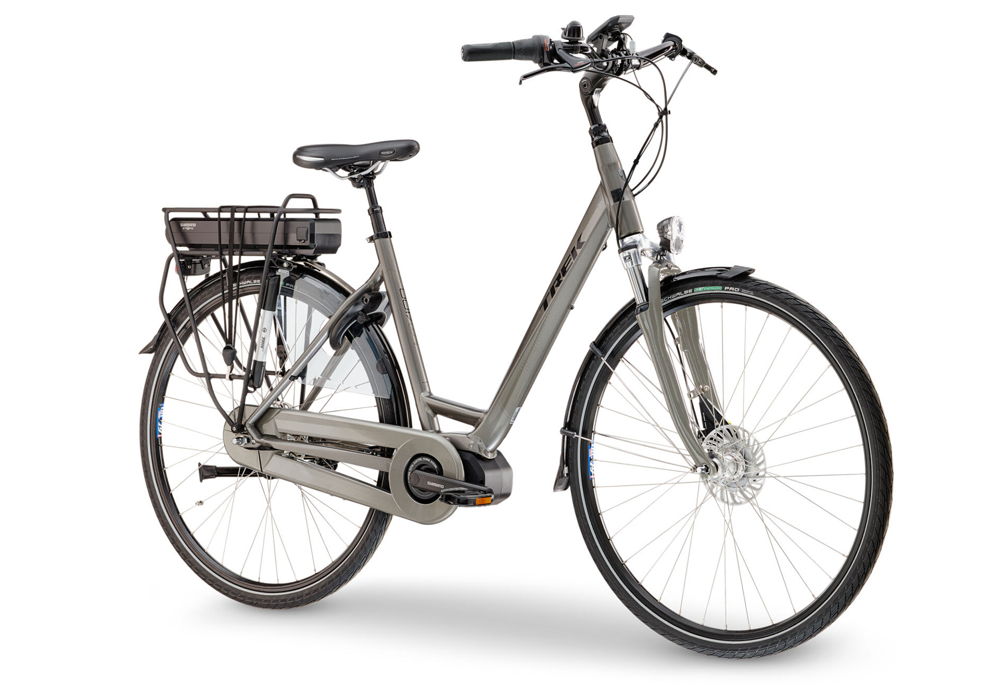 trek lm400lr lowstep women urban e bike shimano nexus 7s. Black Bedroom Furniture Sets. Home Design Ideas