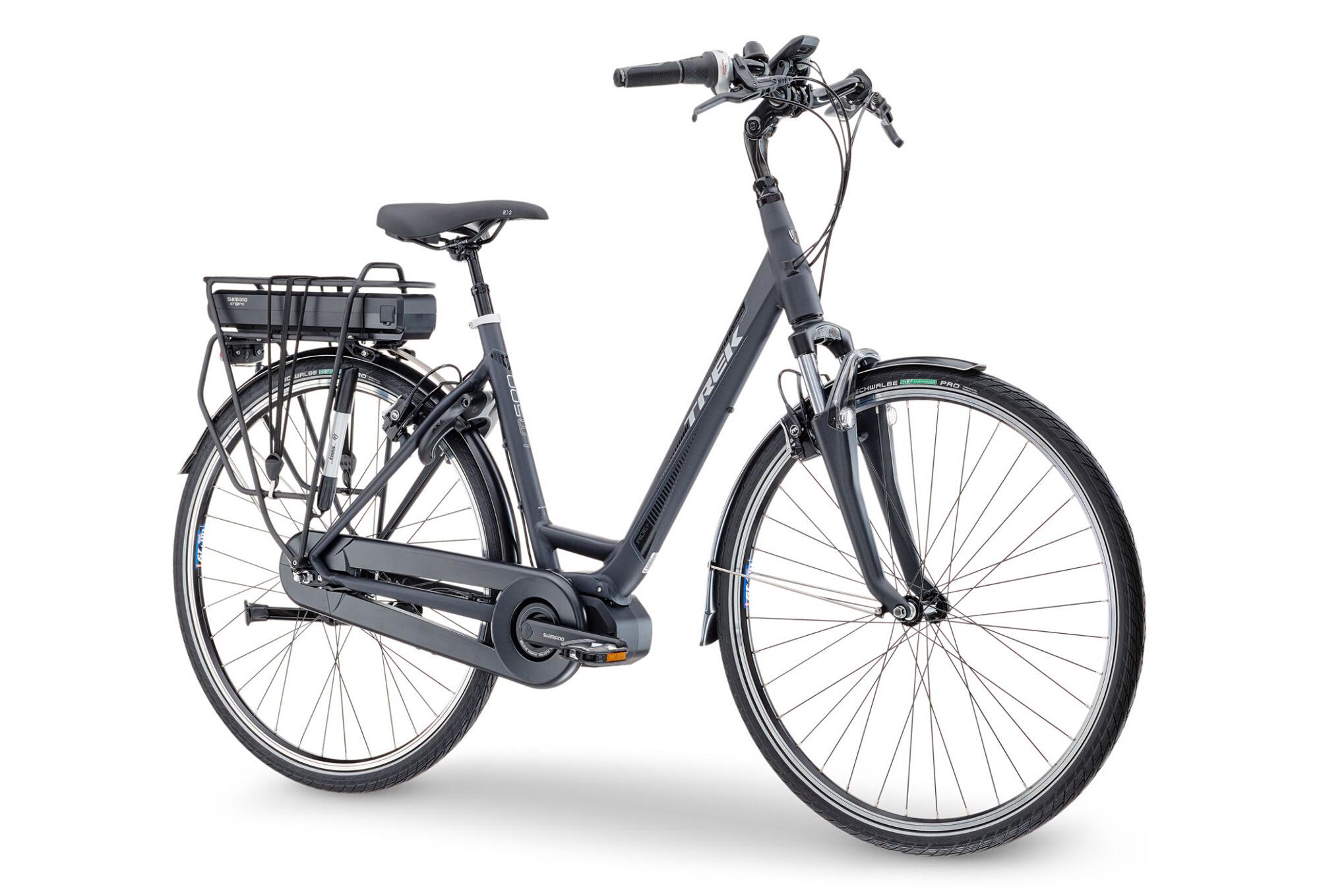 trek lm500 lowstep women urban e bike shimano nexus 8s. Black Bedroom Furniture Sets. Home Design Ideas