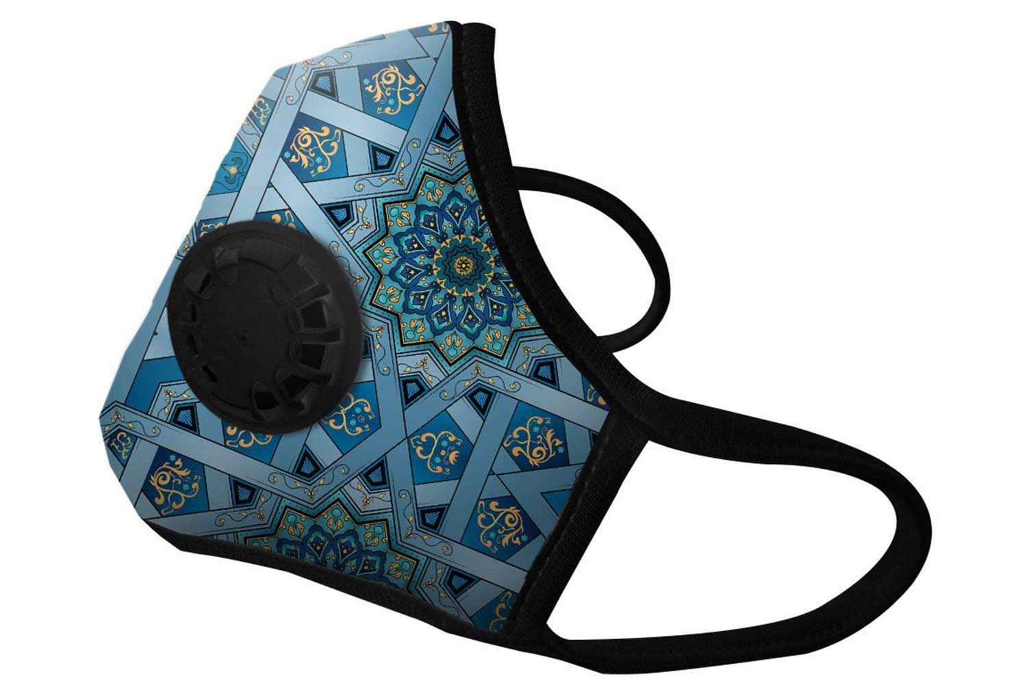 masque anti pollution vogmask n99cv chakra bleu. Black Bedroom Furniture Sets. Home Design Ideas