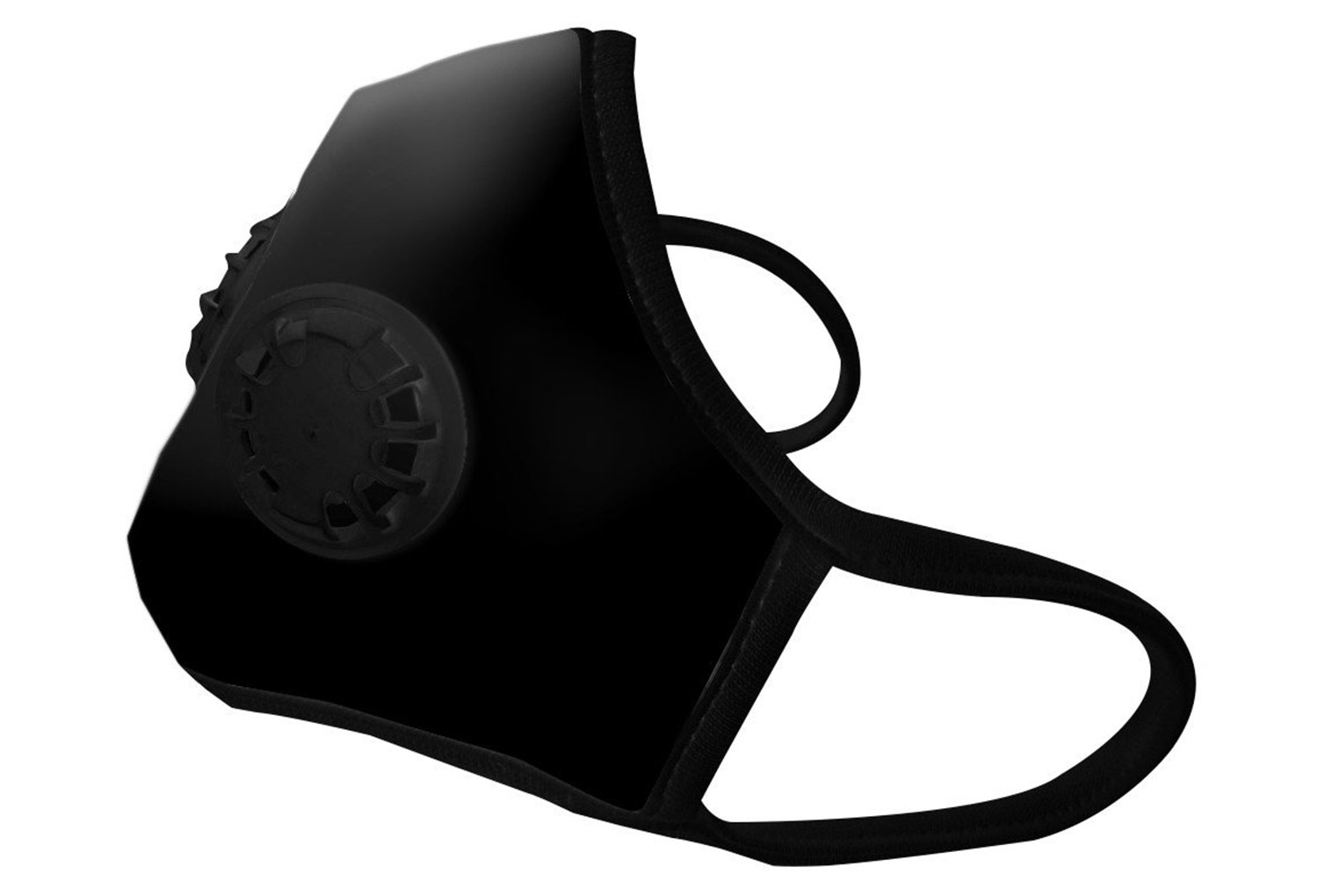 masque anti pollution vogmask n99cv2v noir 2 valves. Black Bedroom Furniture Sets. Home Design Ideas