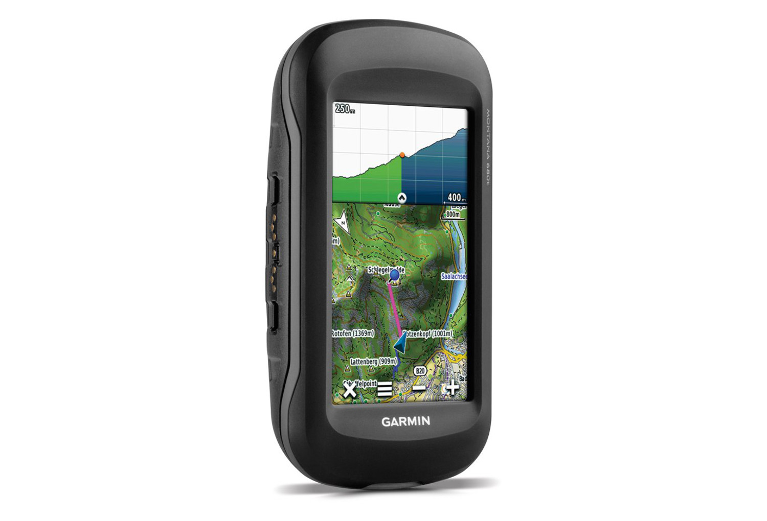 compteur gps garmin montana 680t carte europe loisir. Black Bedroom Furniture Sets. Home Design Ideas