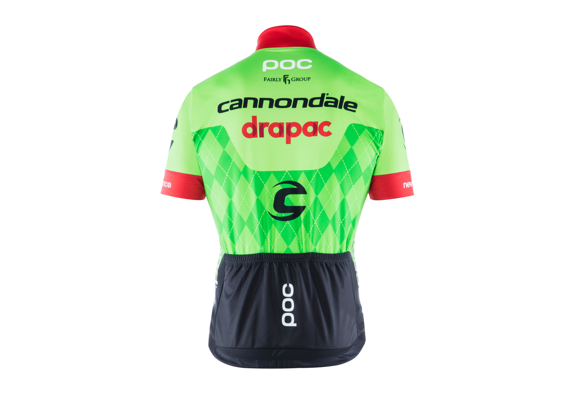 b1f01d03e1 Short Sleeves Jersey POC 2017 Cannondale Drapac Pro Team Green ...