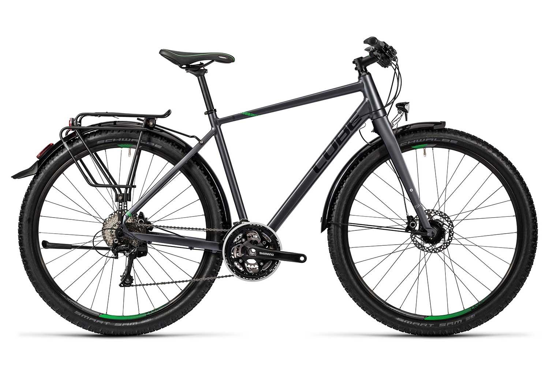 Cube Travel EXC Travel Bike - Shimano XT 10S Grey Green | Alltricks.com