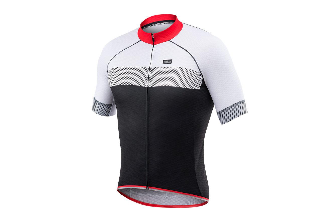 19c0a8a5d Kalas Passion X7 Short Sleeve Jersey Black White Grey