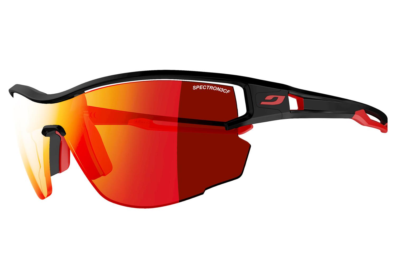 76cf622f0e Julbo Aero Spectron 3CR Glasses Black - Red