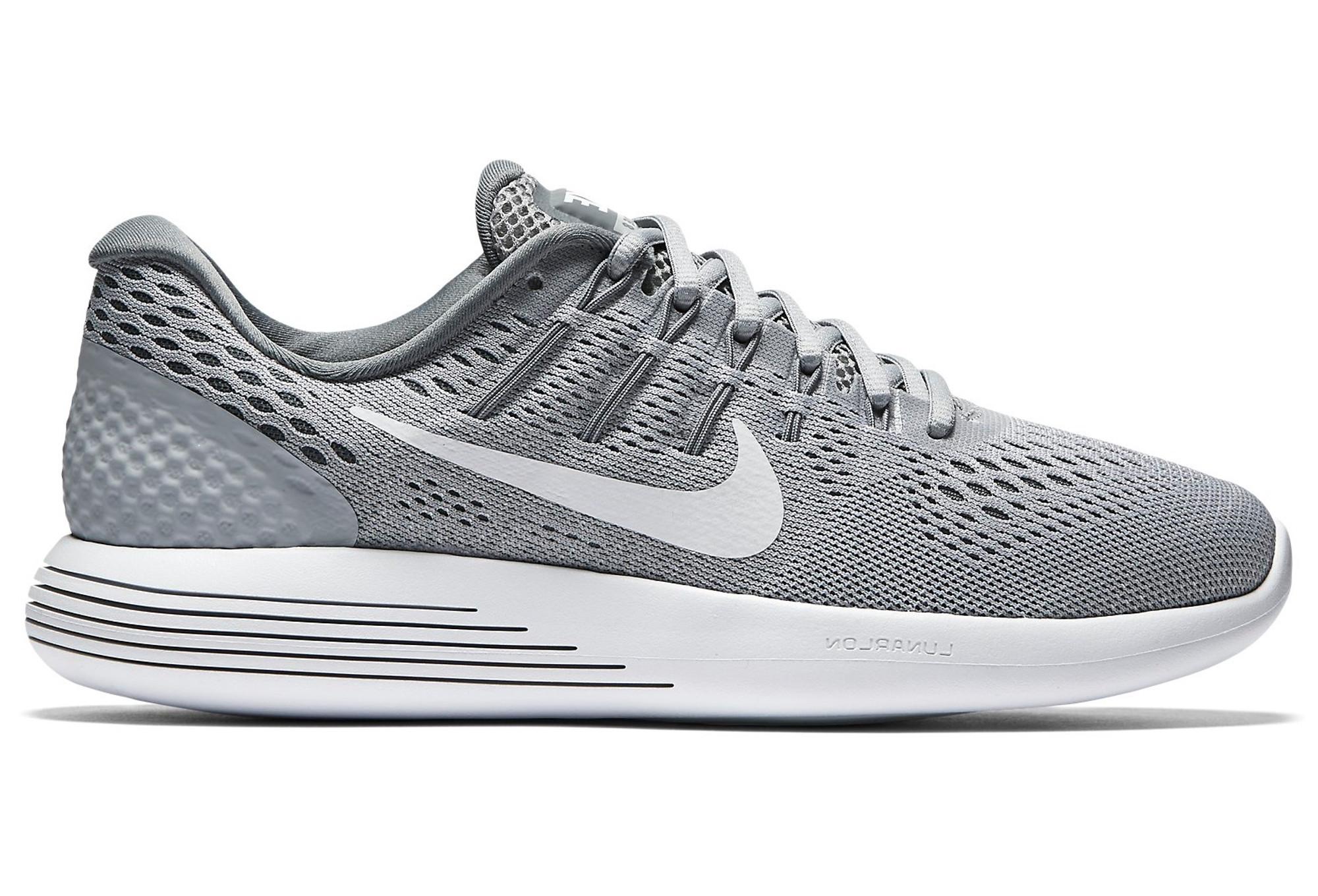 Nike LunarGlide 8 Shoes Grey Women  ab321b58e
