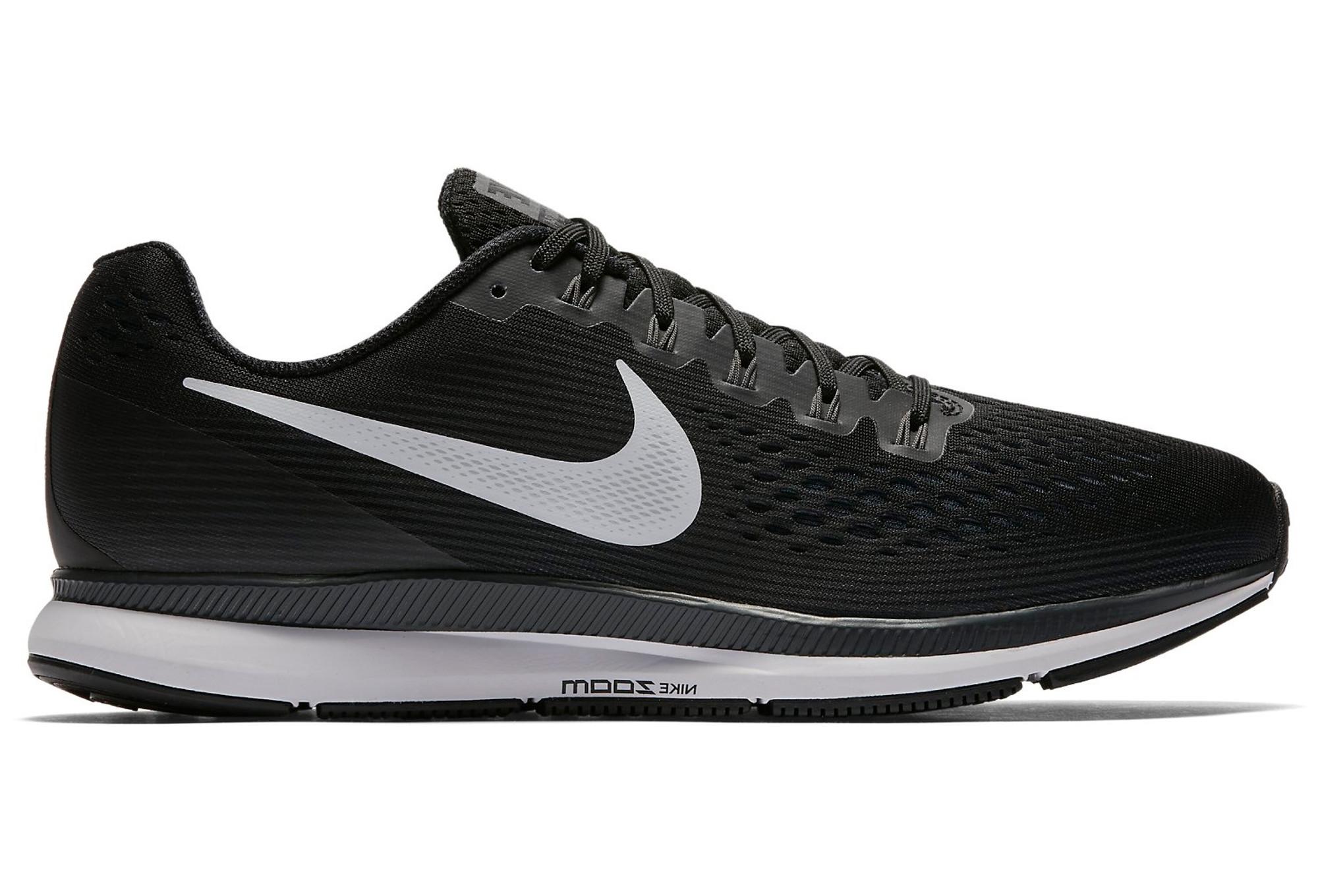 the best attitude 6f071 a7522 Chaussures de Running Nike Air Zoom Pegasus 34 Noir   Blanc
