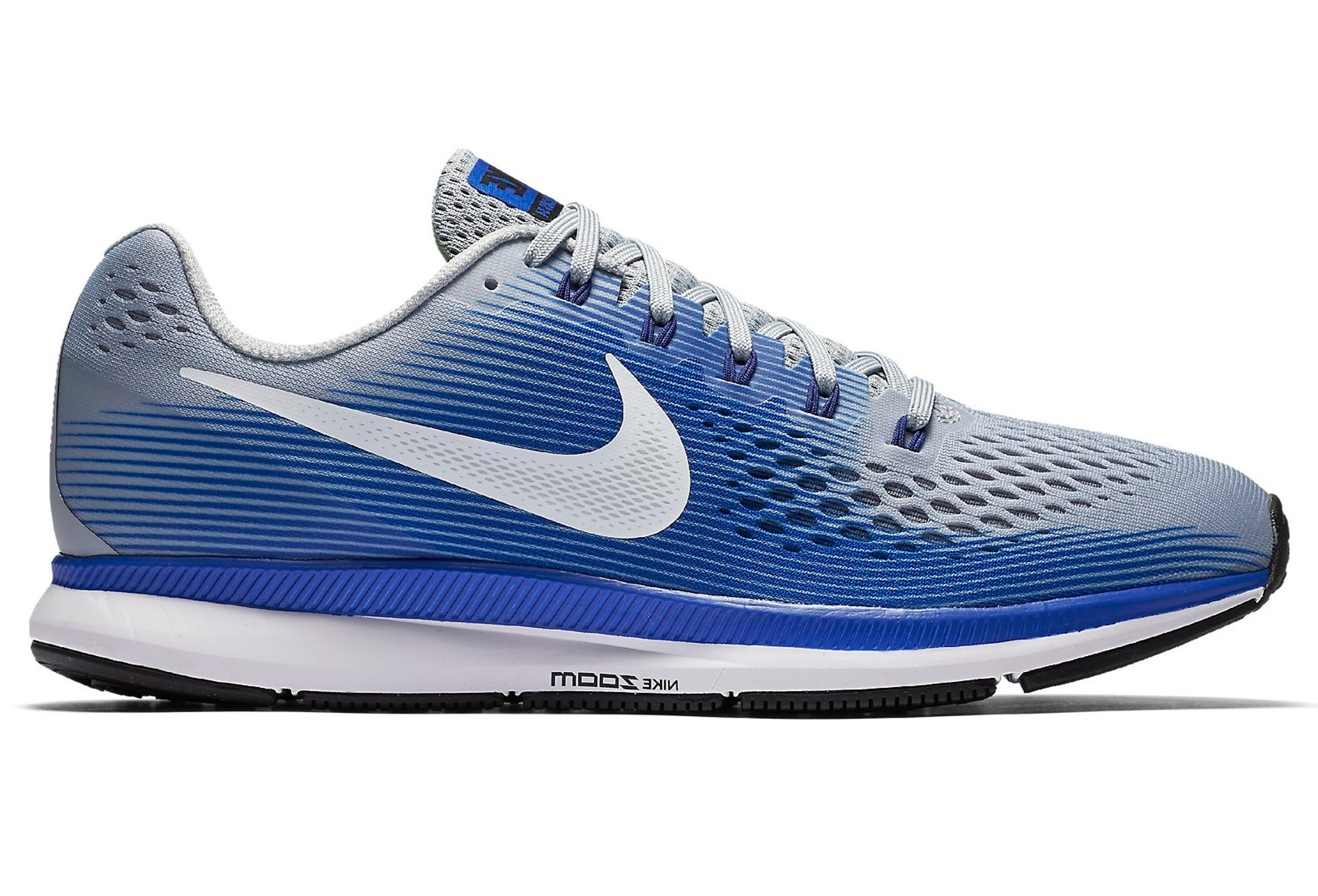 buy popular 37ad3 5dd2a NIKE AIR ZOOM PEGASUS 34 Shoes Blue Grey Men   Alltricks.com