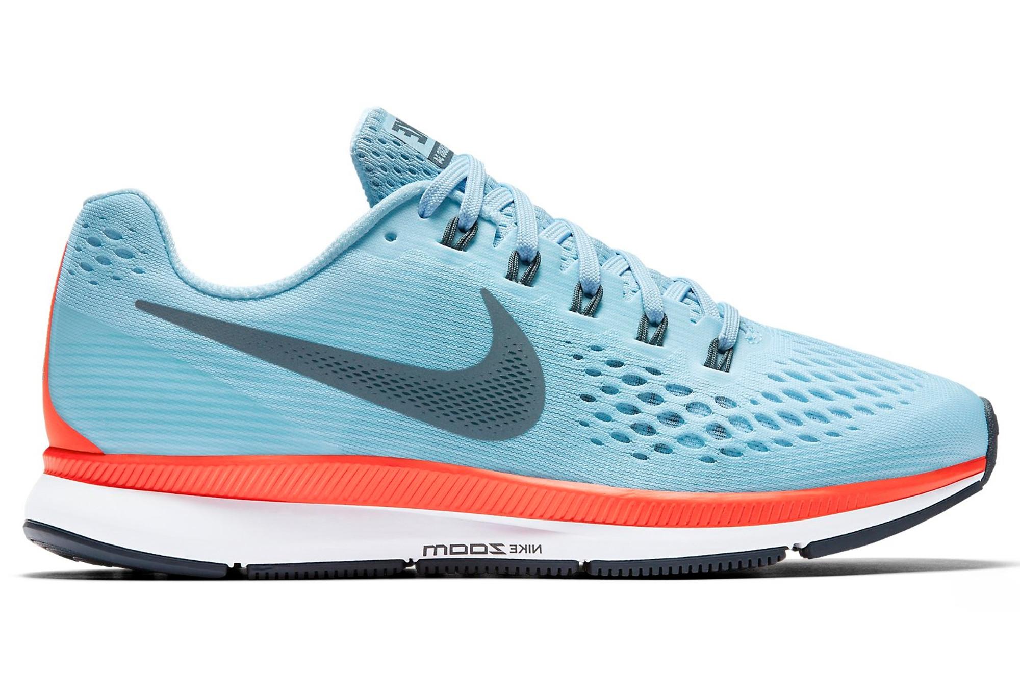 385 Eu Eu Nike Air Zoom Pegasus 34 Chaussures Running Homme Bleu