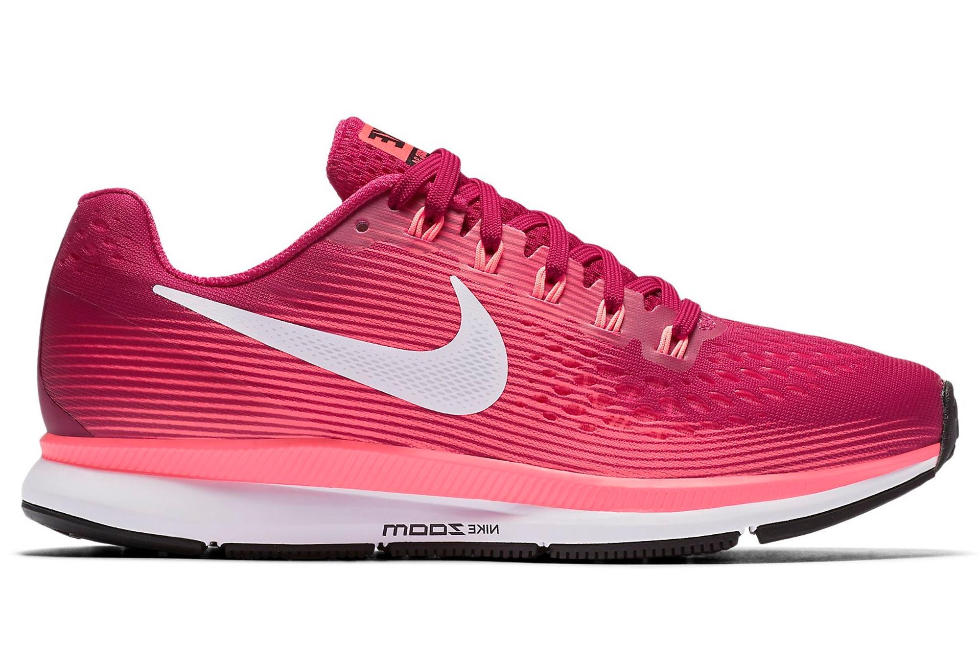 nike air zoom pegasus 34 shoes pink women. Black Bedroom Furniture Sets. Home Design Ideas