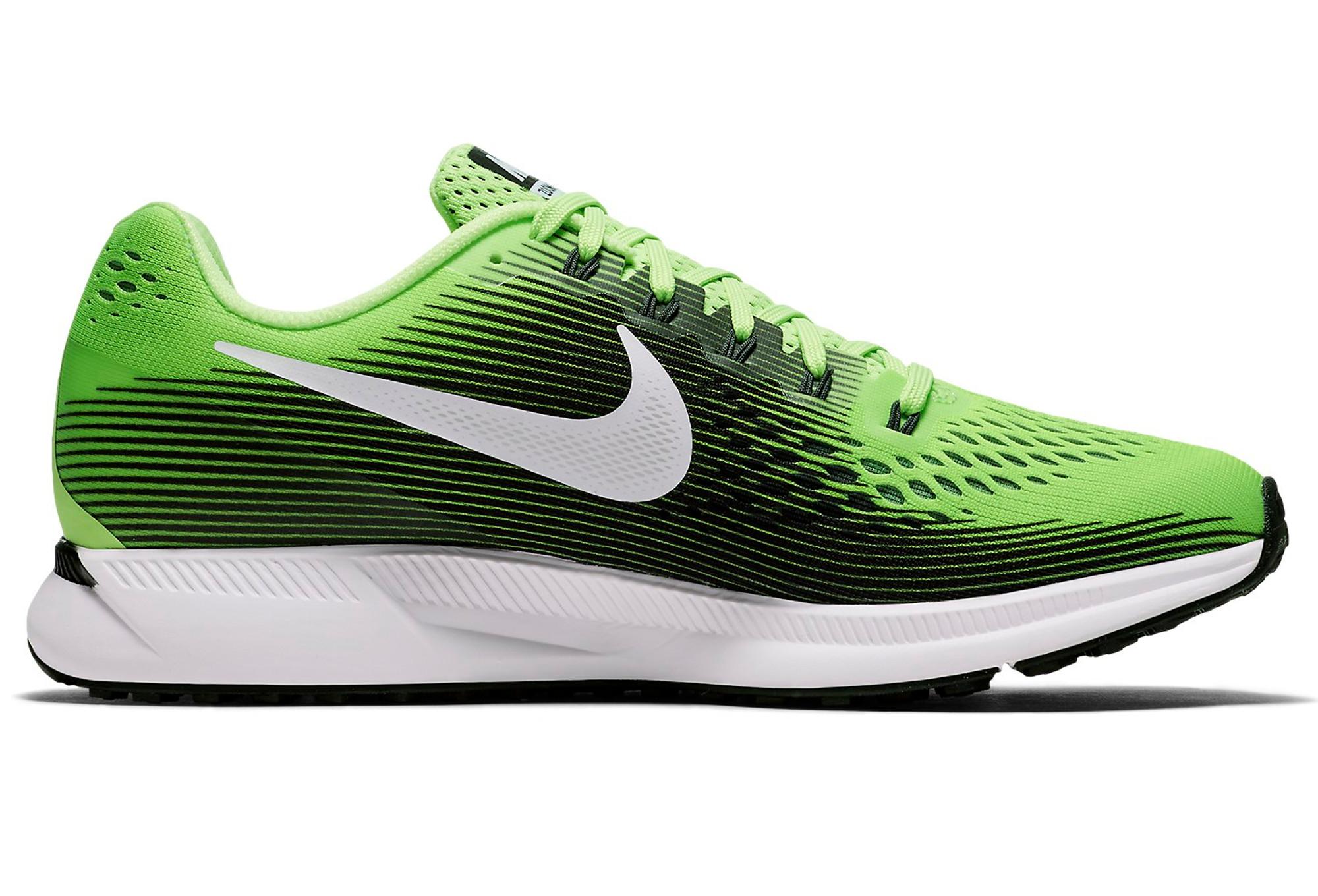 Chaussures de Running Nike Air Zoom Pegasus 34 Vert