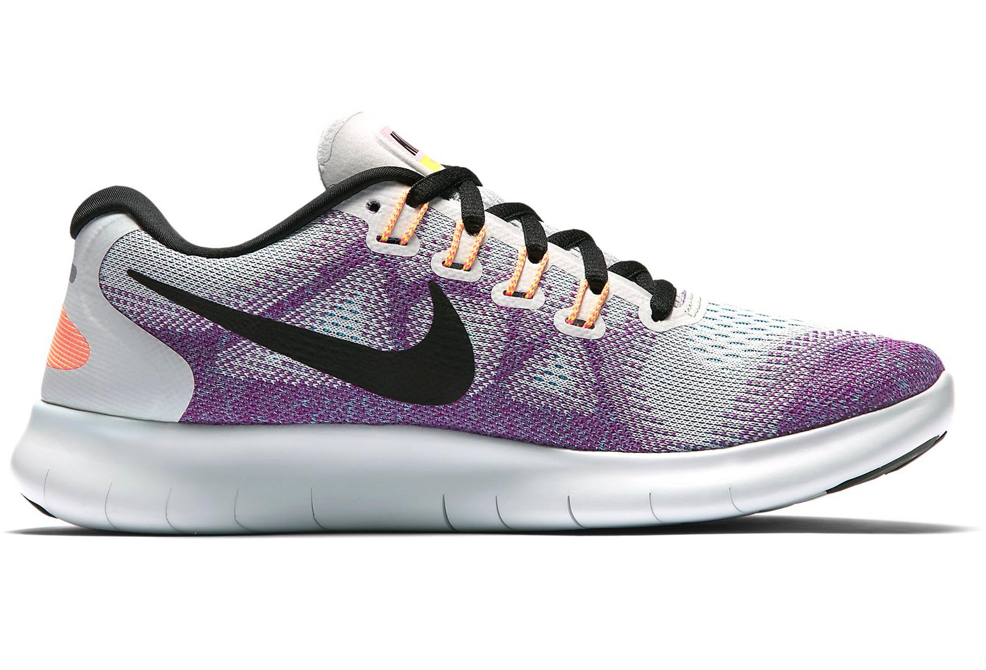 size 40 8364a f4849 Nike Free RN 2017 Women s Shoes Grey Purple   Alltricks.com