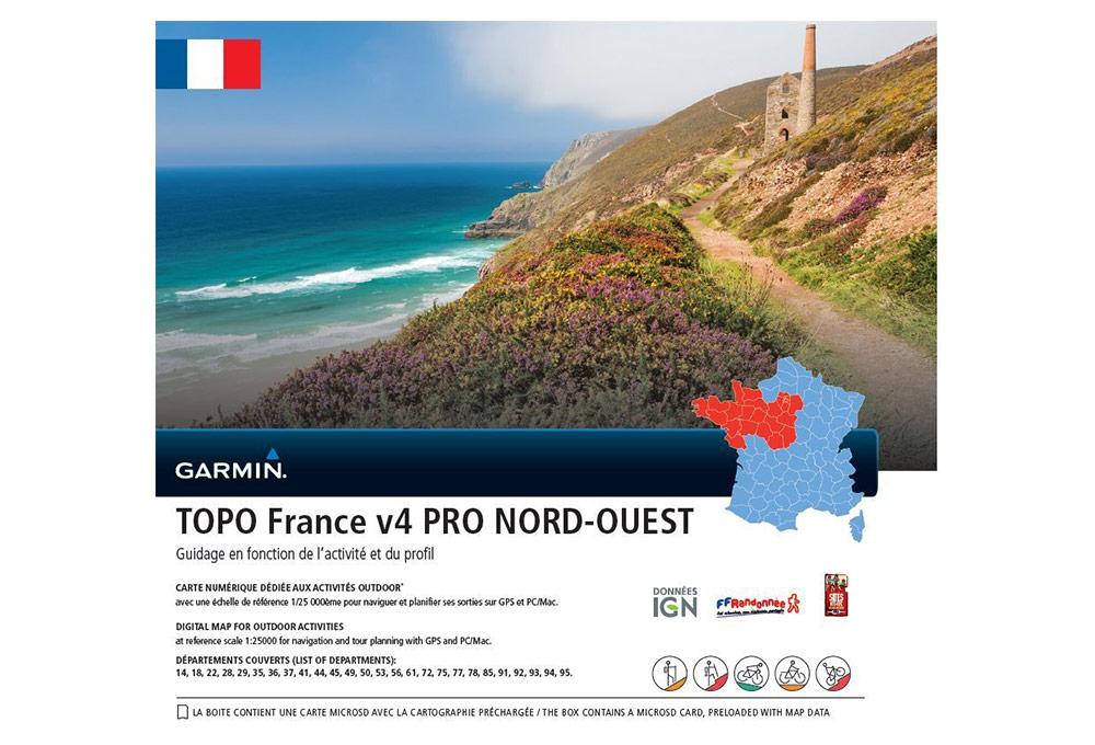 carte topo france v4 pro