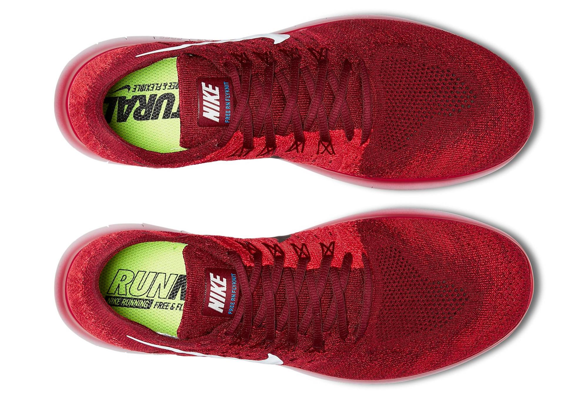 Zapatilla Roja Nike Free Rn 2017 Running