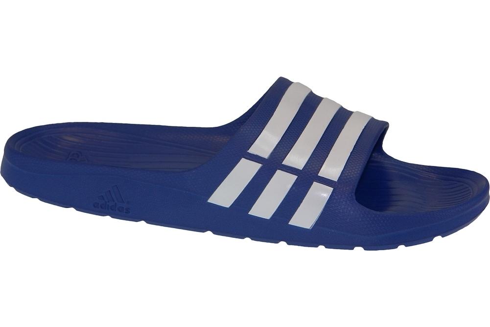 detailed look 8e605 eb92d Adidas Duramo Slide G14309 Bleu