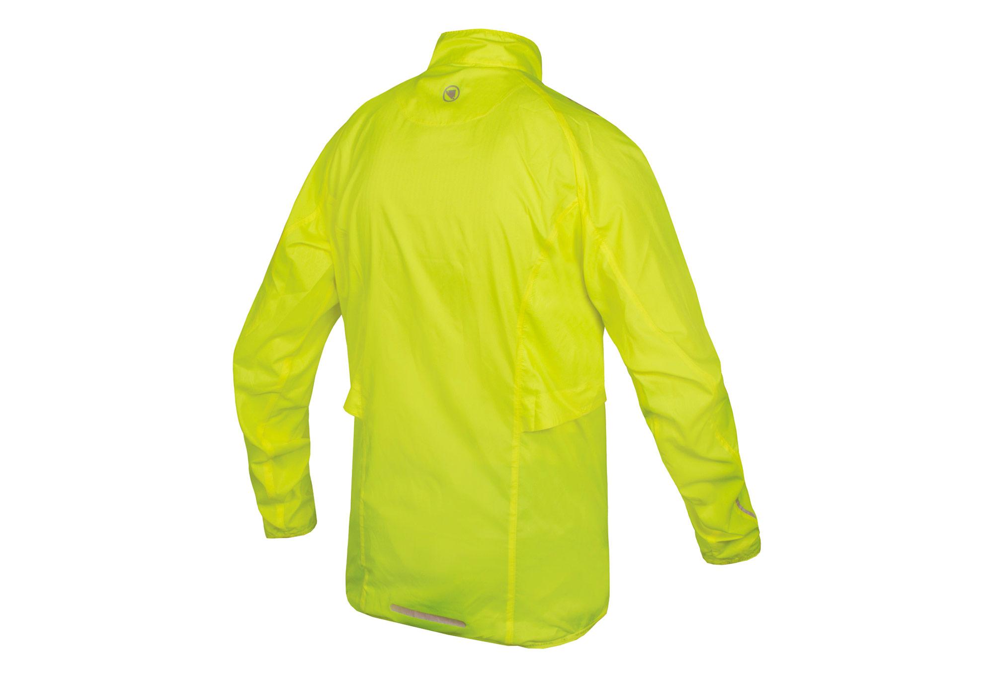 Endura Pakajak II Windbreaker Jacket Yellow
