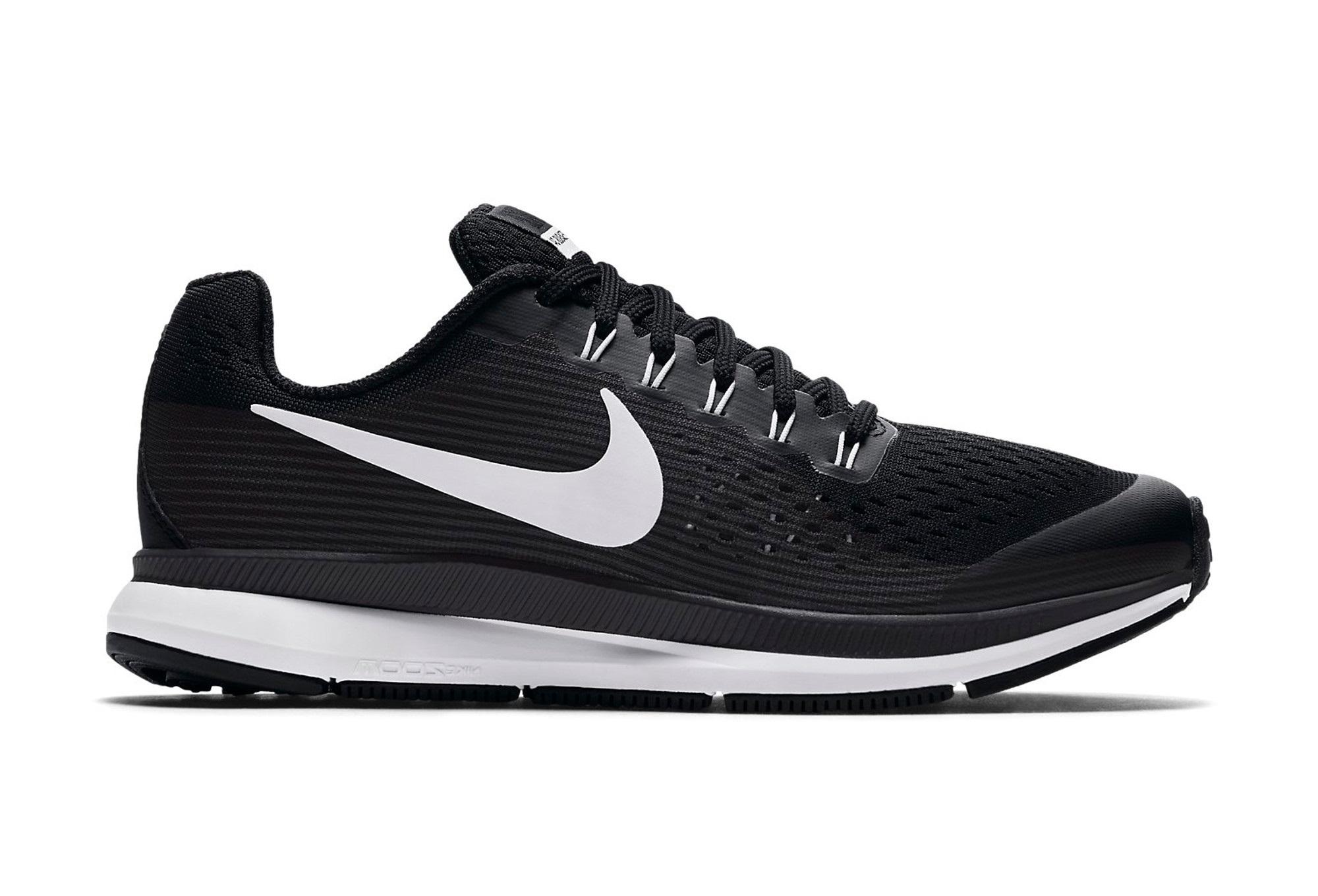 Chaussures Enfant Nike Air Zoom Pegasus 34 Blanc / Noir