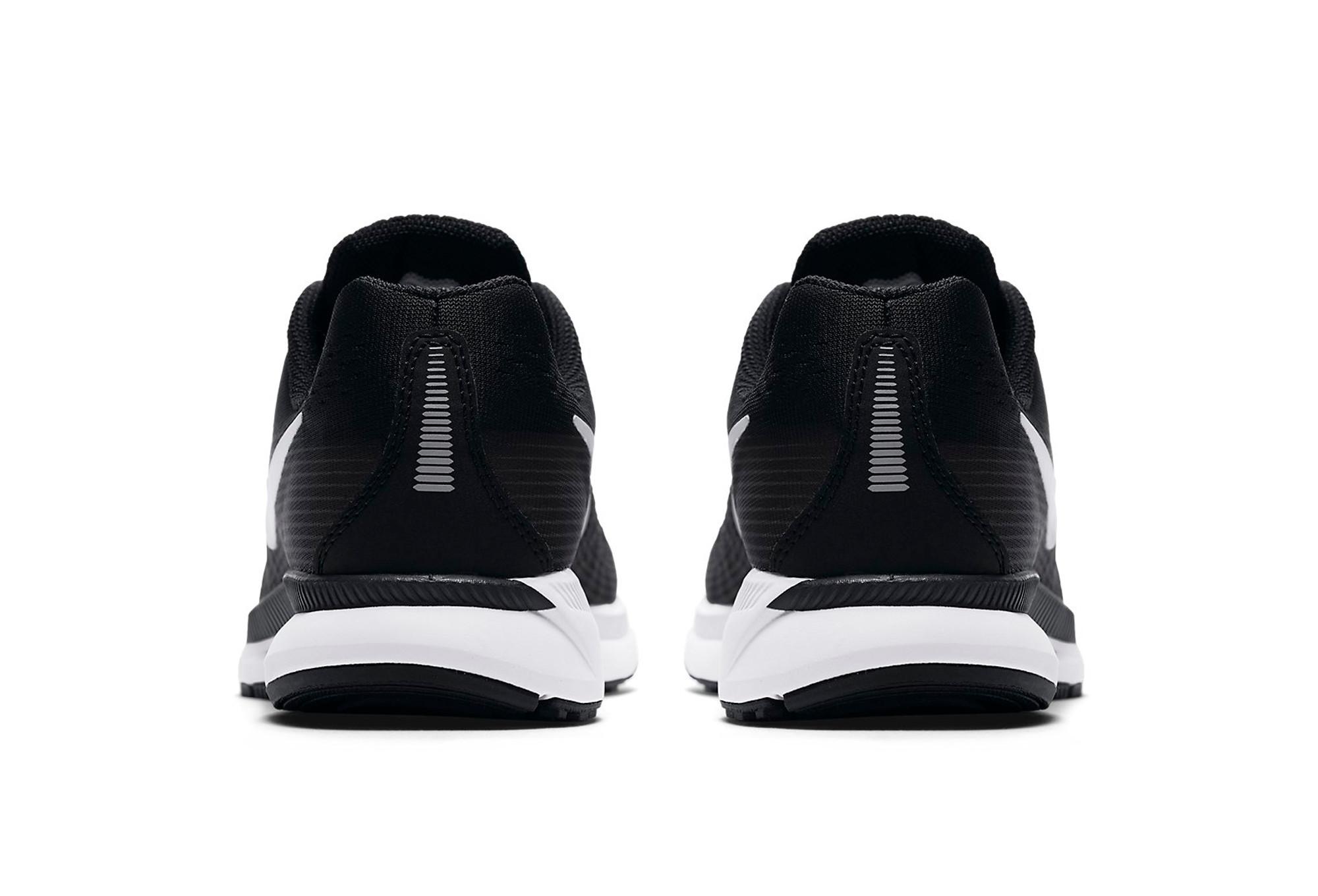 938c4e86a8352 Chaussures Enfant Nike Air Zoom Pegasus 34 Noir   Blanc