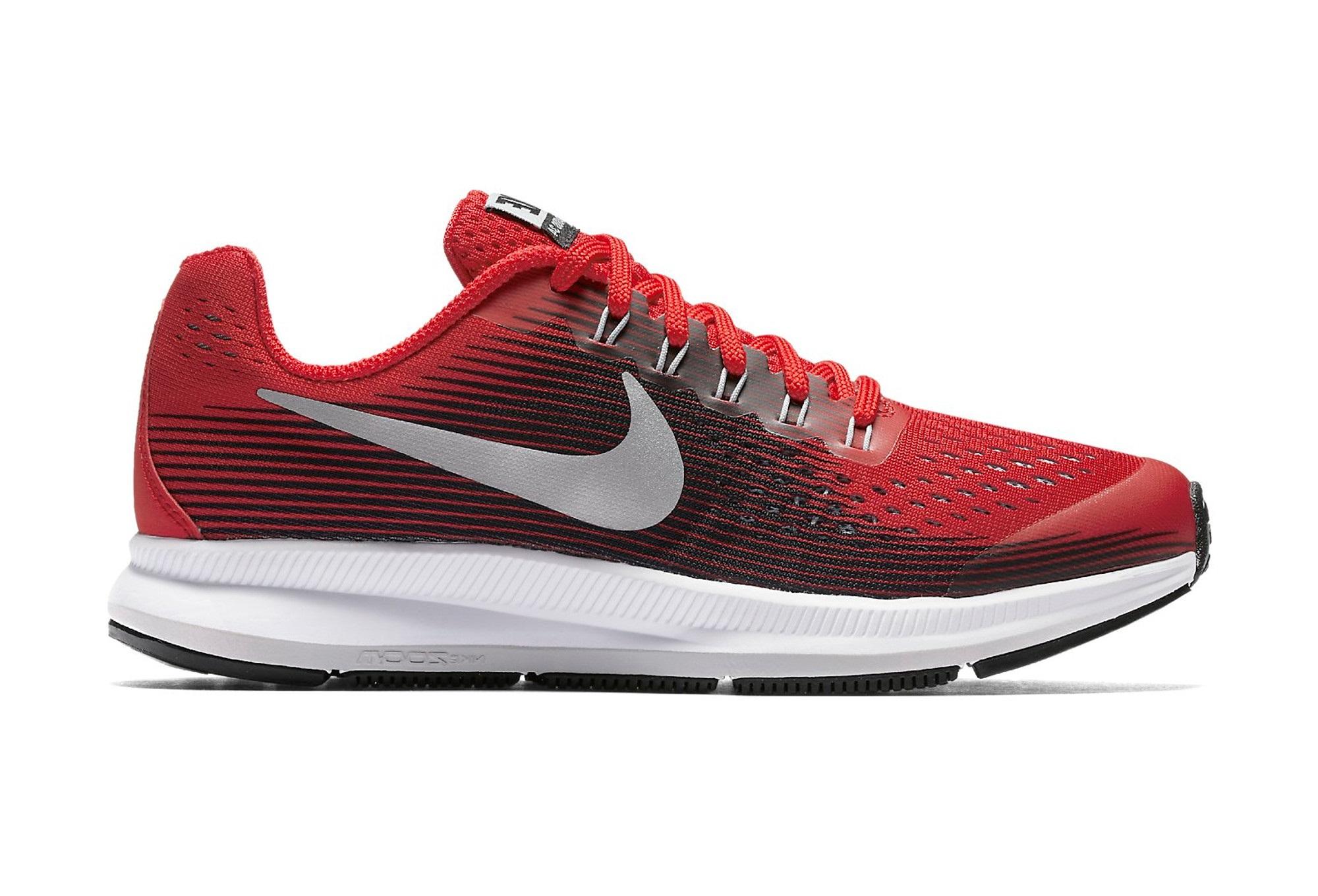 c7a1c715c Zapatillas Nike Air Zoom Pegasus 34 para Niño Niña Rojo Noir ...