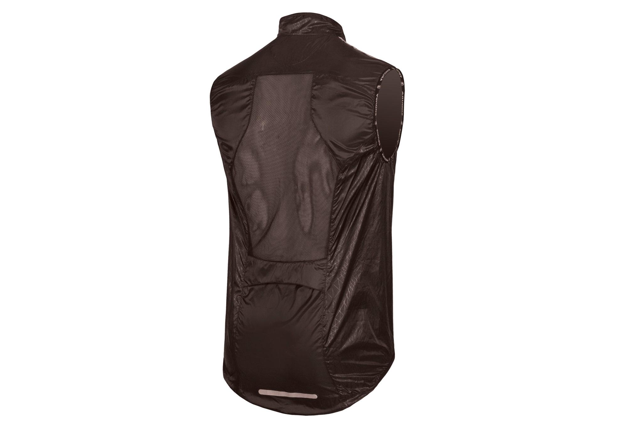 veste coupe vent sans manches endura pakagilet ii noir. Black Bedroom Furniture Sets. Home Design Ideas