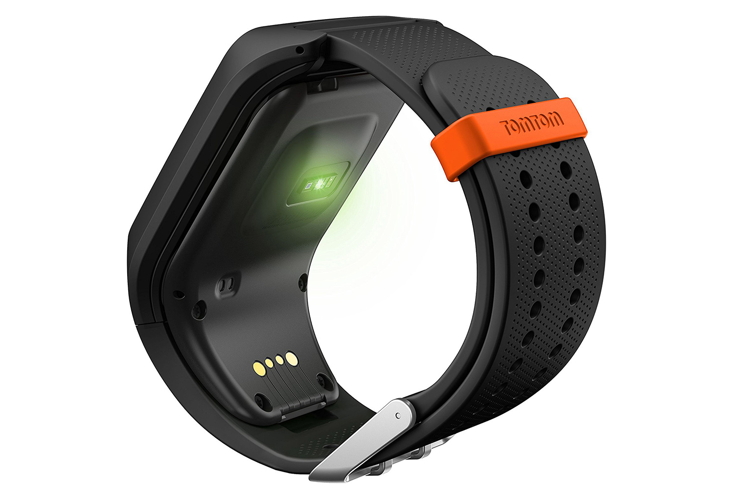 bracelet de rechange tomtom runner 2 3 adventurer spark taille large noir. Black Bedroom Furniture Sets. Home Design Ideas