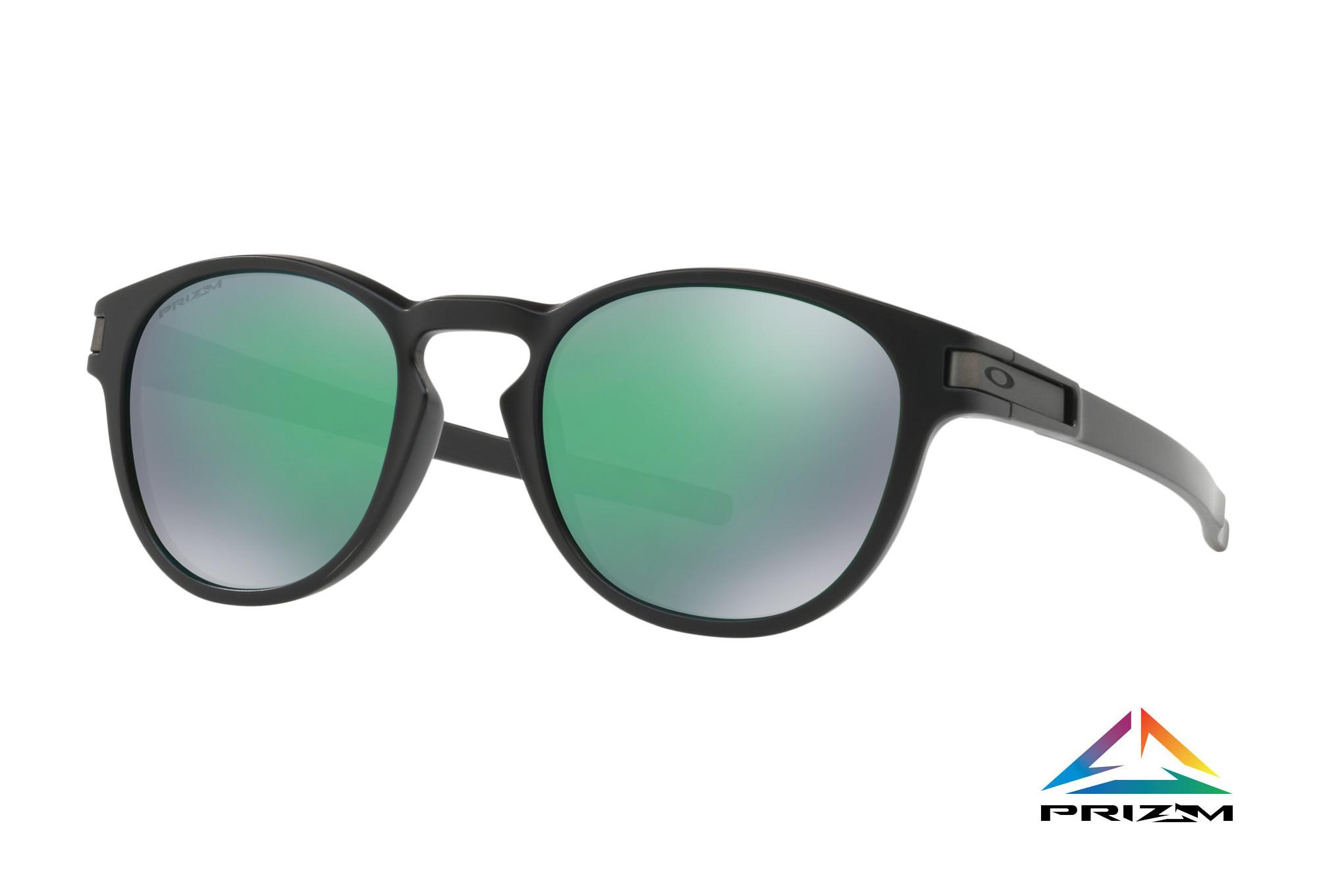 Noir Lunettes Vert RefOo9265 Oakley Latch 2853 Prizm 8Okn0wP
