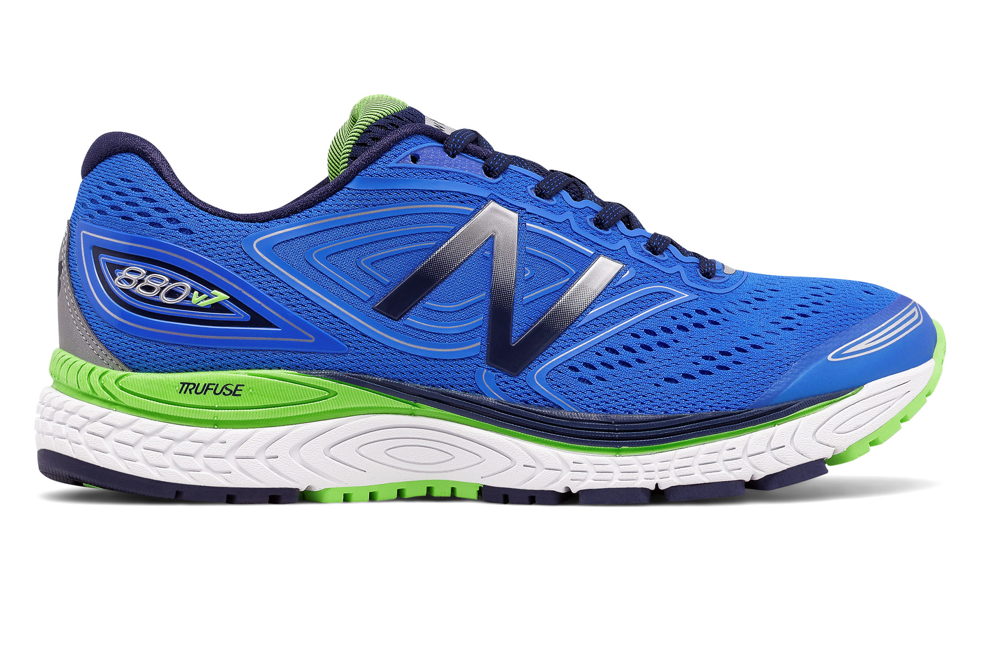 Chaussures New Balance 880 v7 bleu vert femme