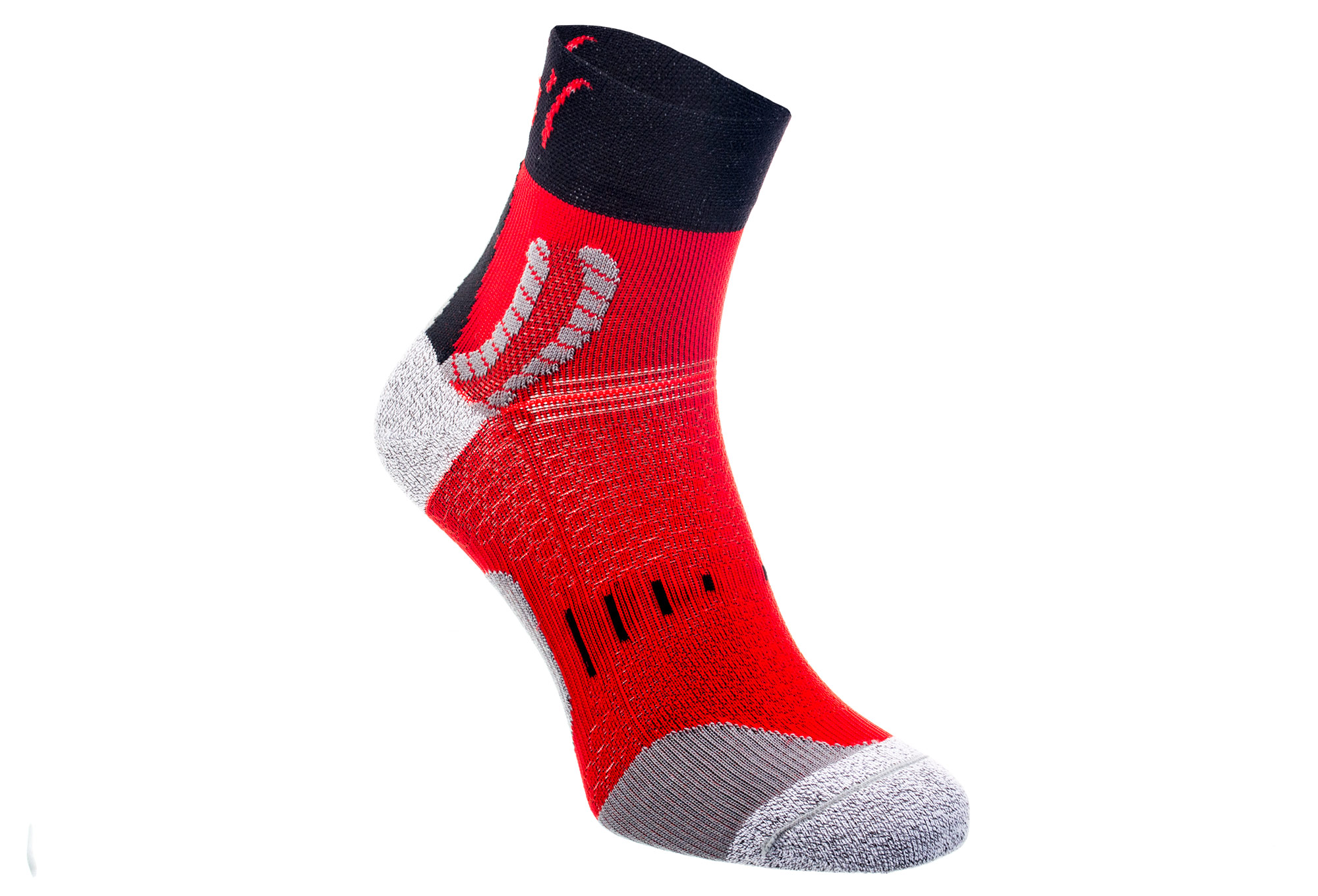 paire de chaussettes running rafa l nairobie blanc noir rouge. Black Bedroom Furniture Sets. Home Design Ideas