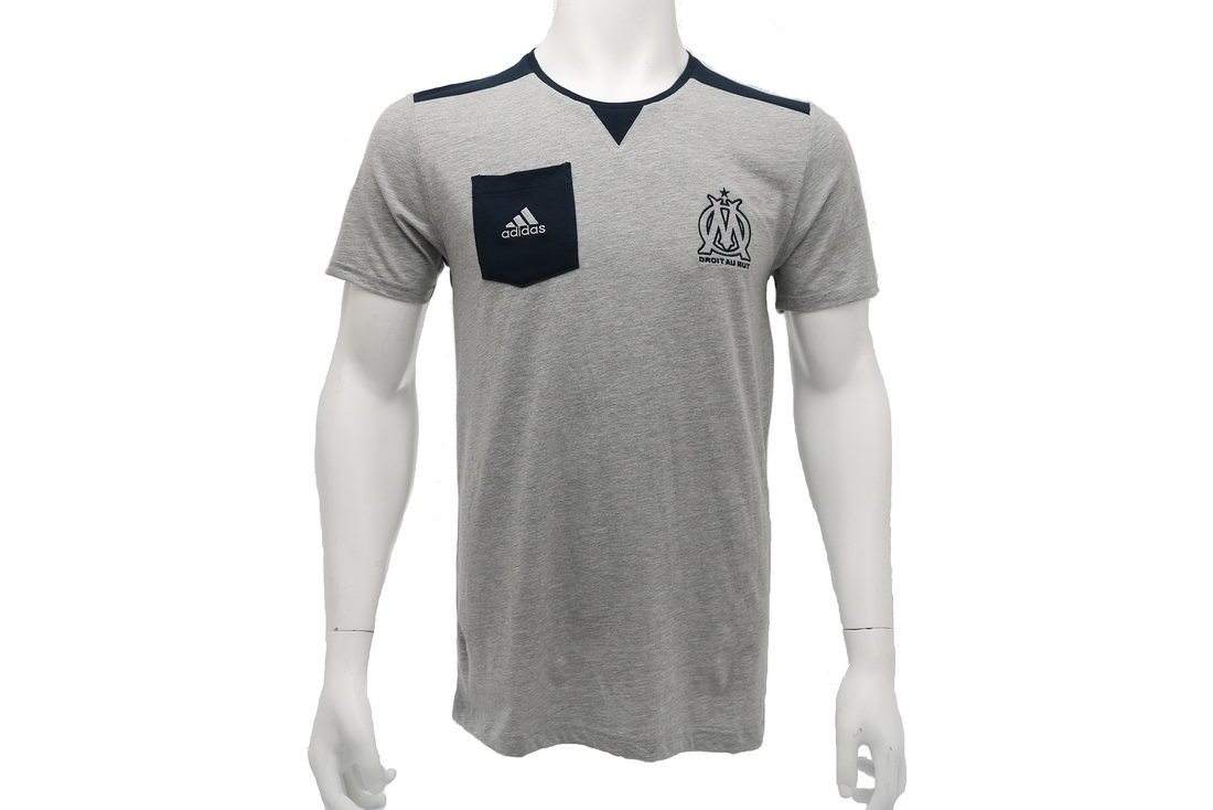 Adidas OM SF Tee F85713 Homme T-shirt Gris   Alltricks.com fec9ee4d6fbf