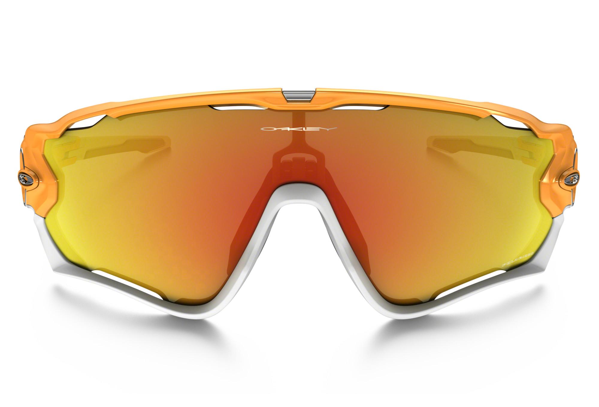 lunettes oakley jawbreaker orange jaune iridium. Black Bedroom Furniture Sets. Home Design Ideas