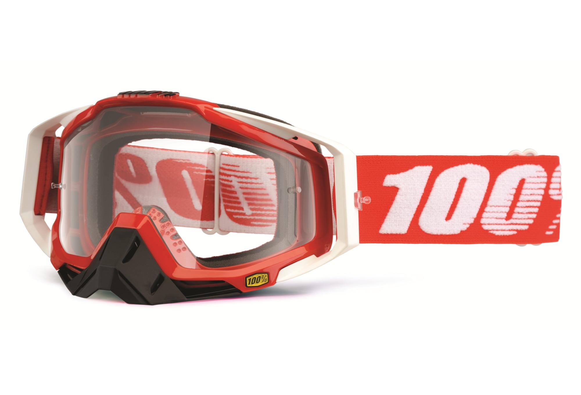 masque 100 racecraft fire rouge ecran transparent. Black Bedroom Furniture Sets. Home Design Ideas