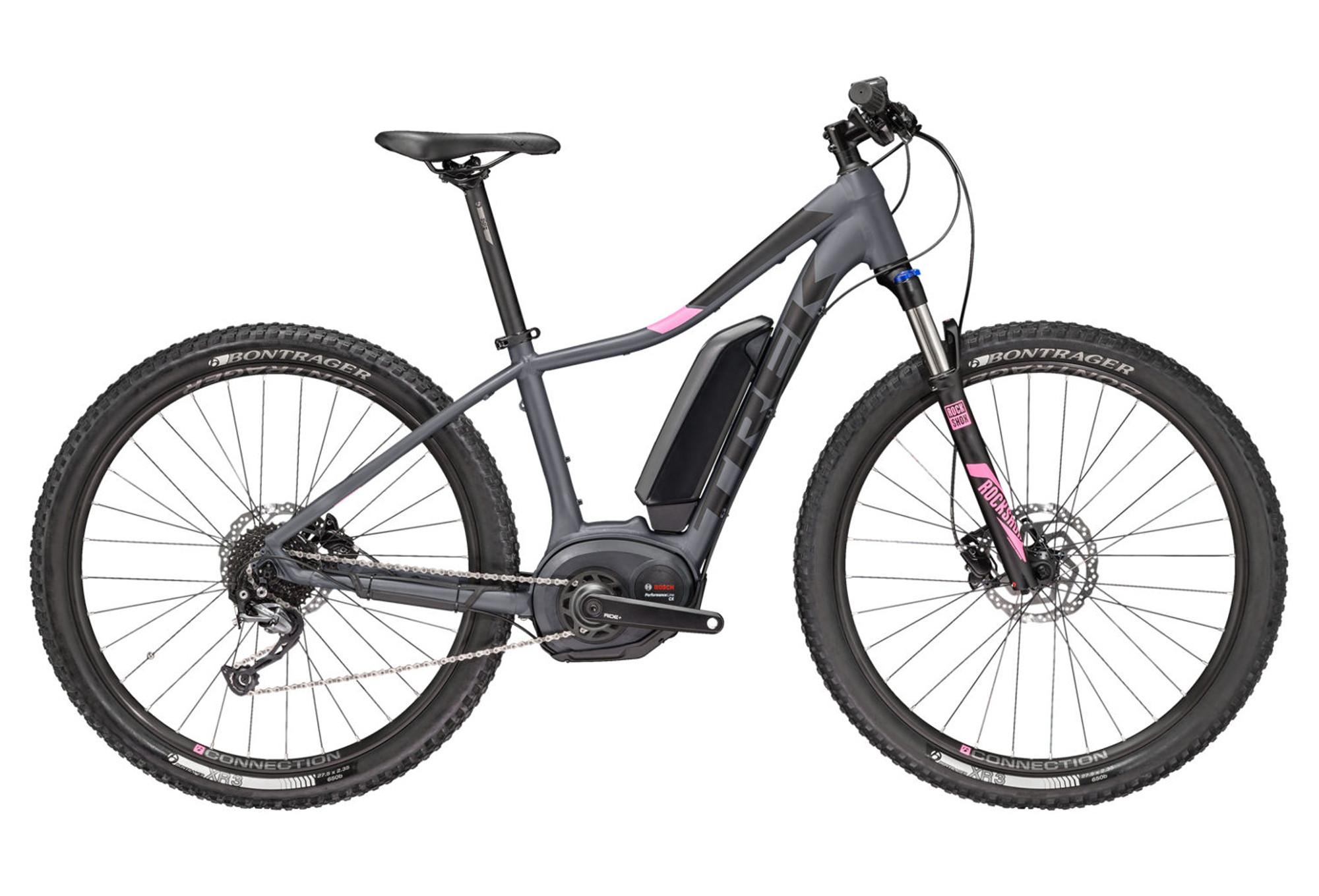 trek powerfly 4 2018 e bike 27 5 39 39 grey pink. Black Bedroom Furniture Sets. Home Design Ideas