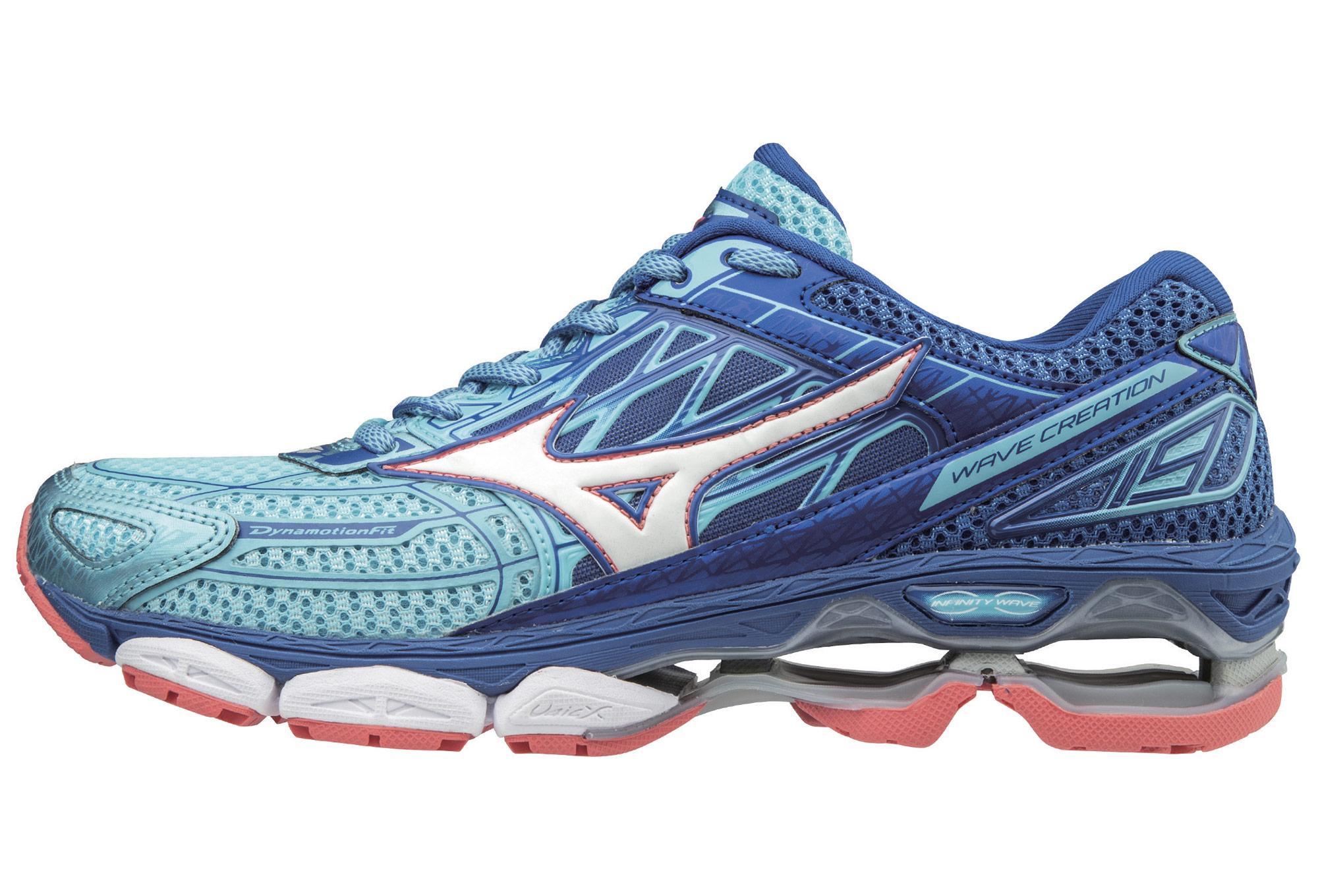 size 40 aa8a5 ad774 Chaussures de Running Femme Mizuno Wave Creation 19 Bleu   Bleu