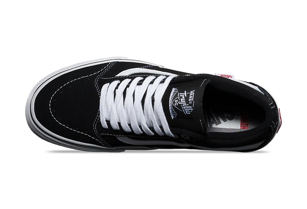 Vans TNT SG Schuhe Schwarz Weiß