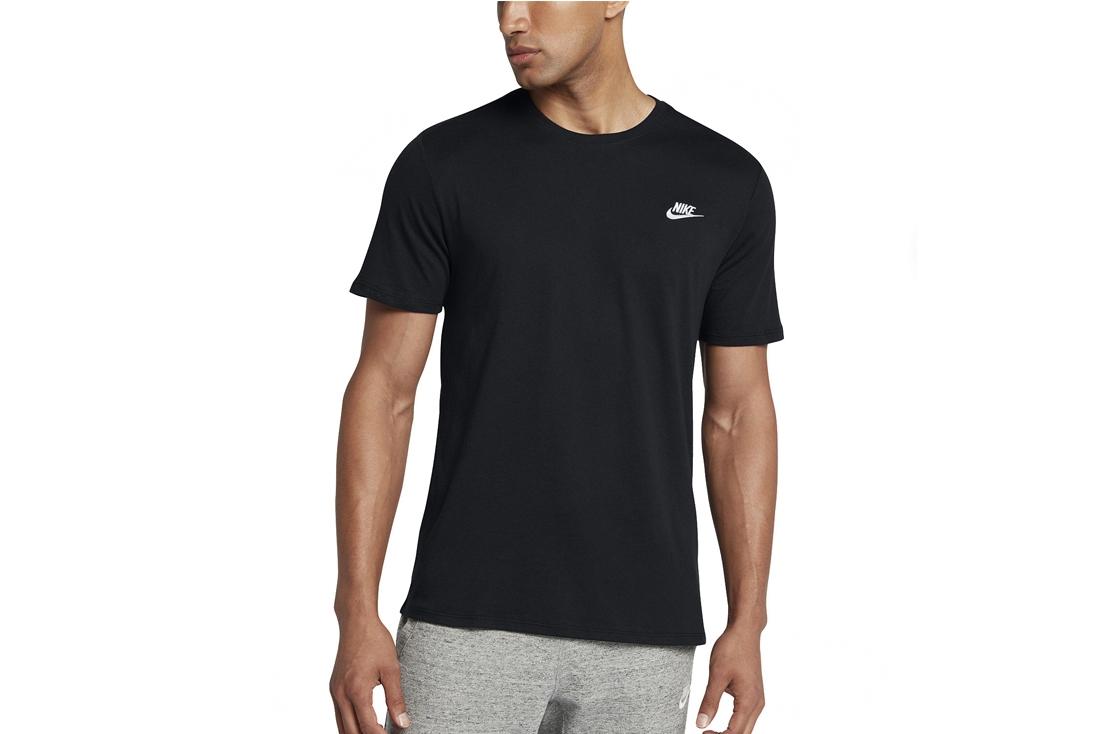 7c8a3d9d Nike Club Embroidery Futura T-Shirt 827021-011 Homme T-shirt Noir ...
