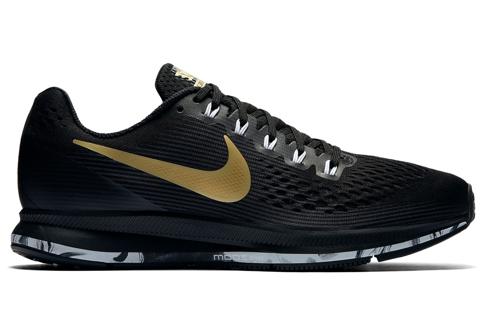 new styles 1e2b6 d5412 Chaussures de Running Femme Nike Air Zoom Pegasus 34 Medal Pack Noir   Or