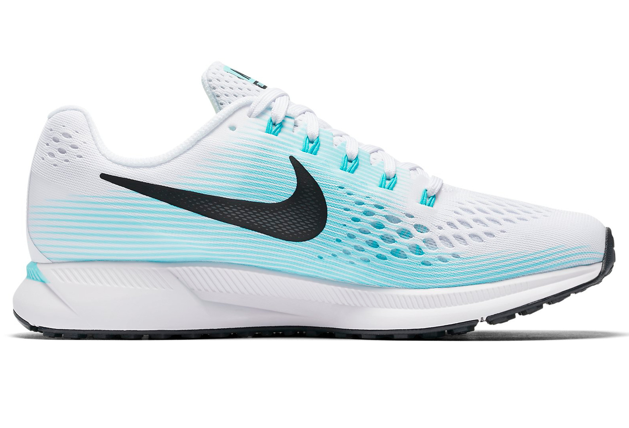 nike air zoom pegasus 34 women white blue. Black Bedroom Furniture Sets. Home Design Ideas